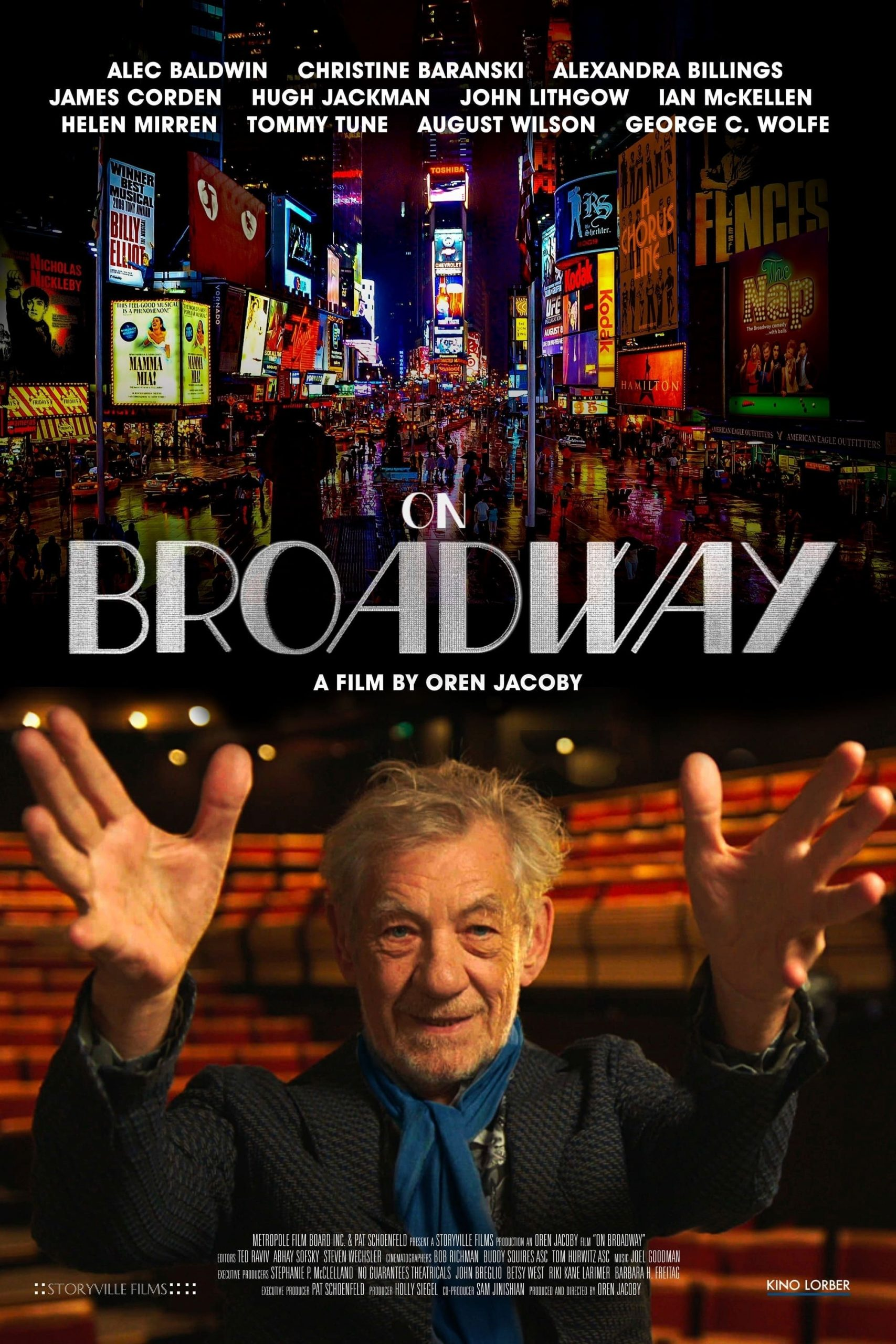 Poster for On Broadway