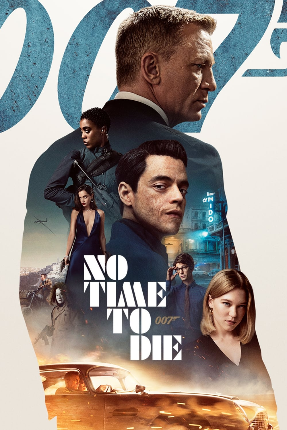Poster for No Time to Die (2021)