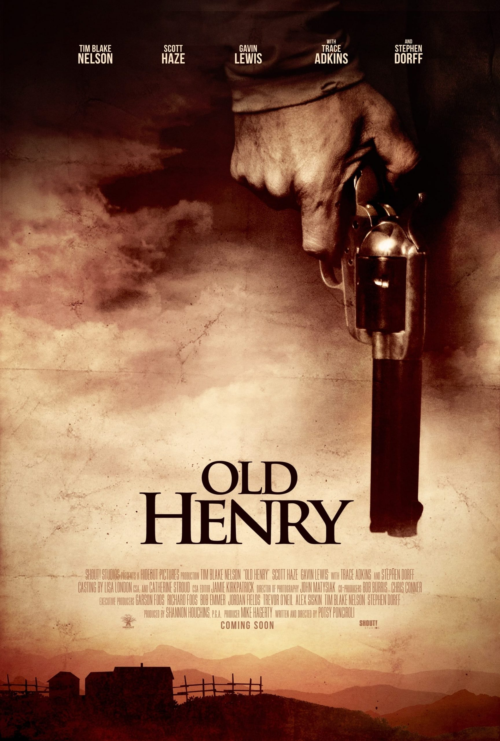 Poster for Old Henry (2021)