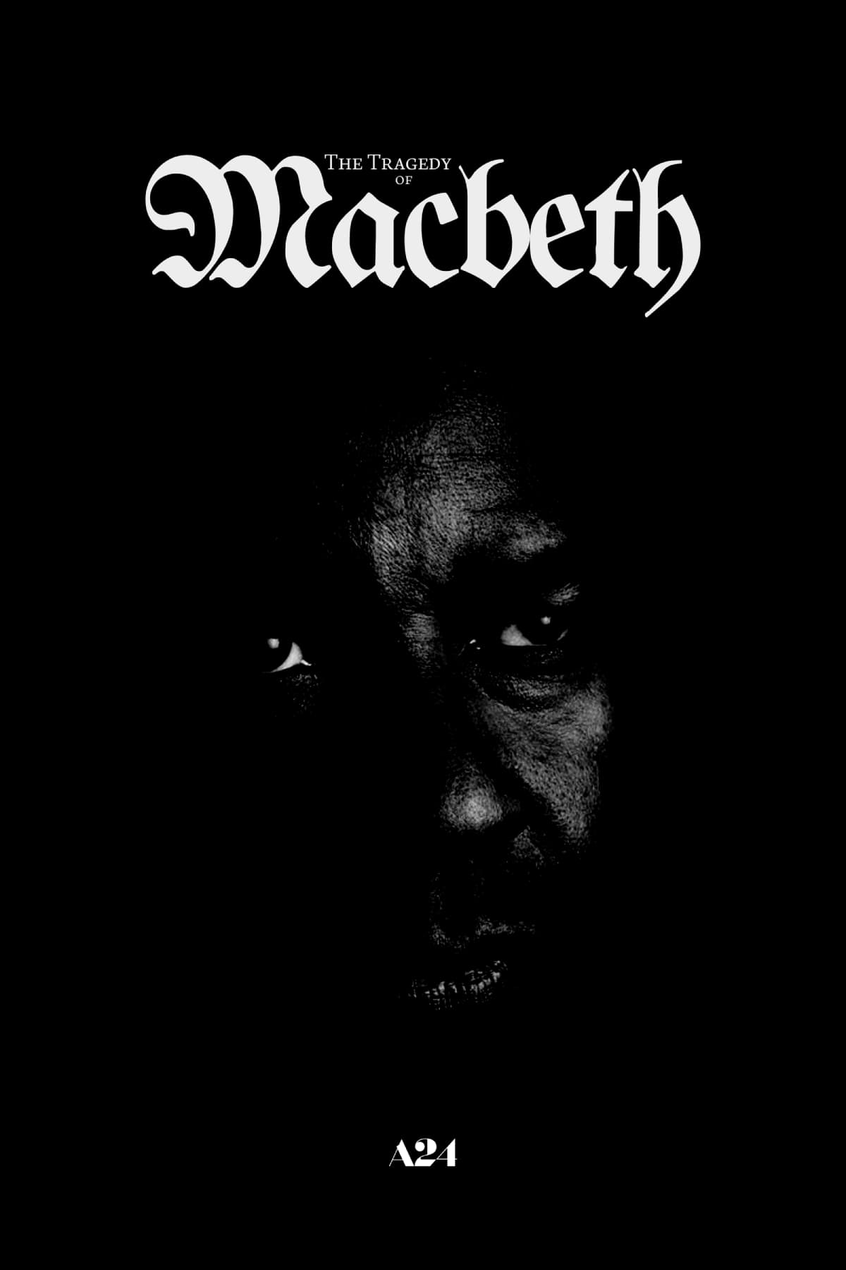 Poster for The Tragedy of Macbeth (2021)