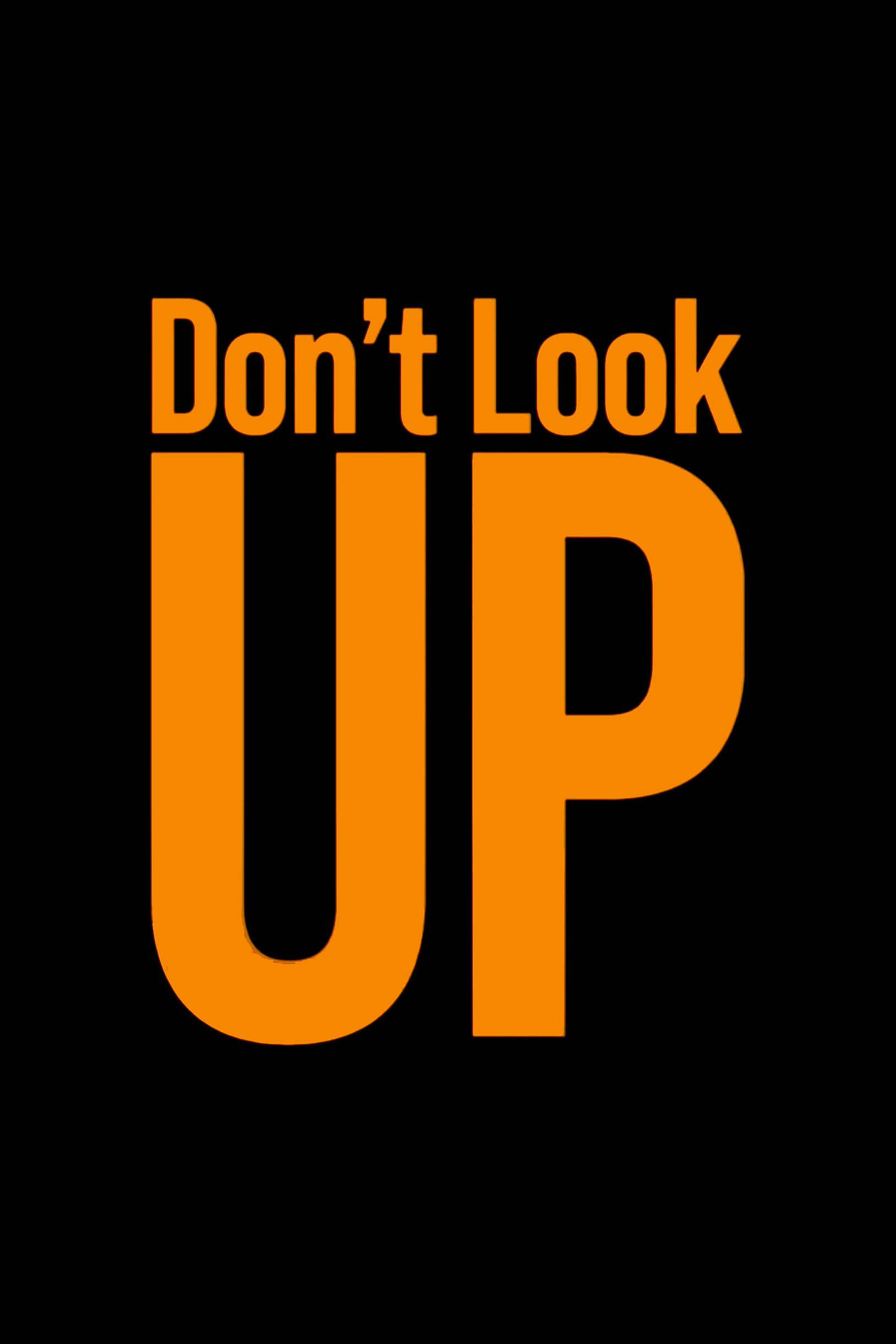 Poster for Don't Look Up (2021)
