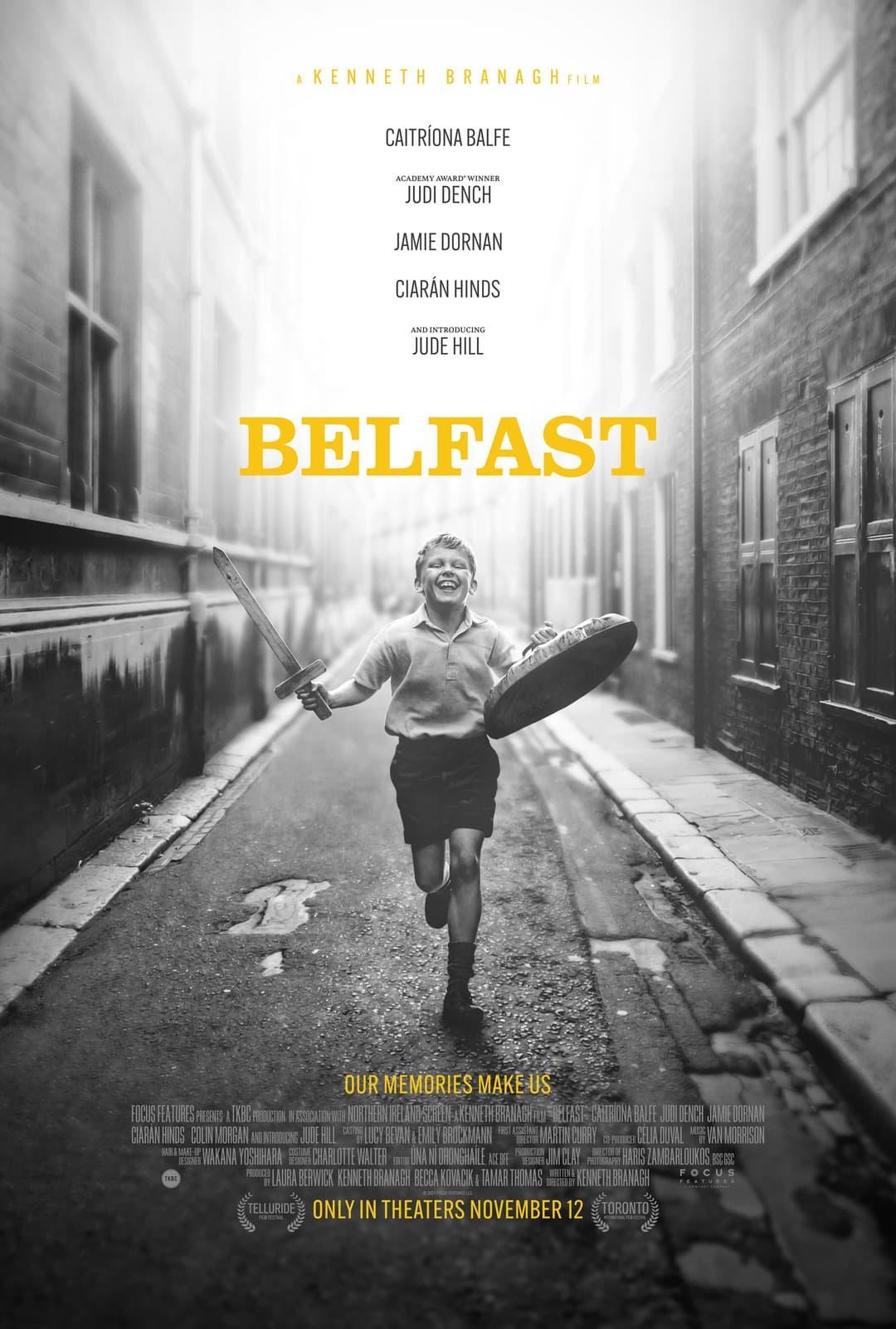 Poster for Belfast (2021)