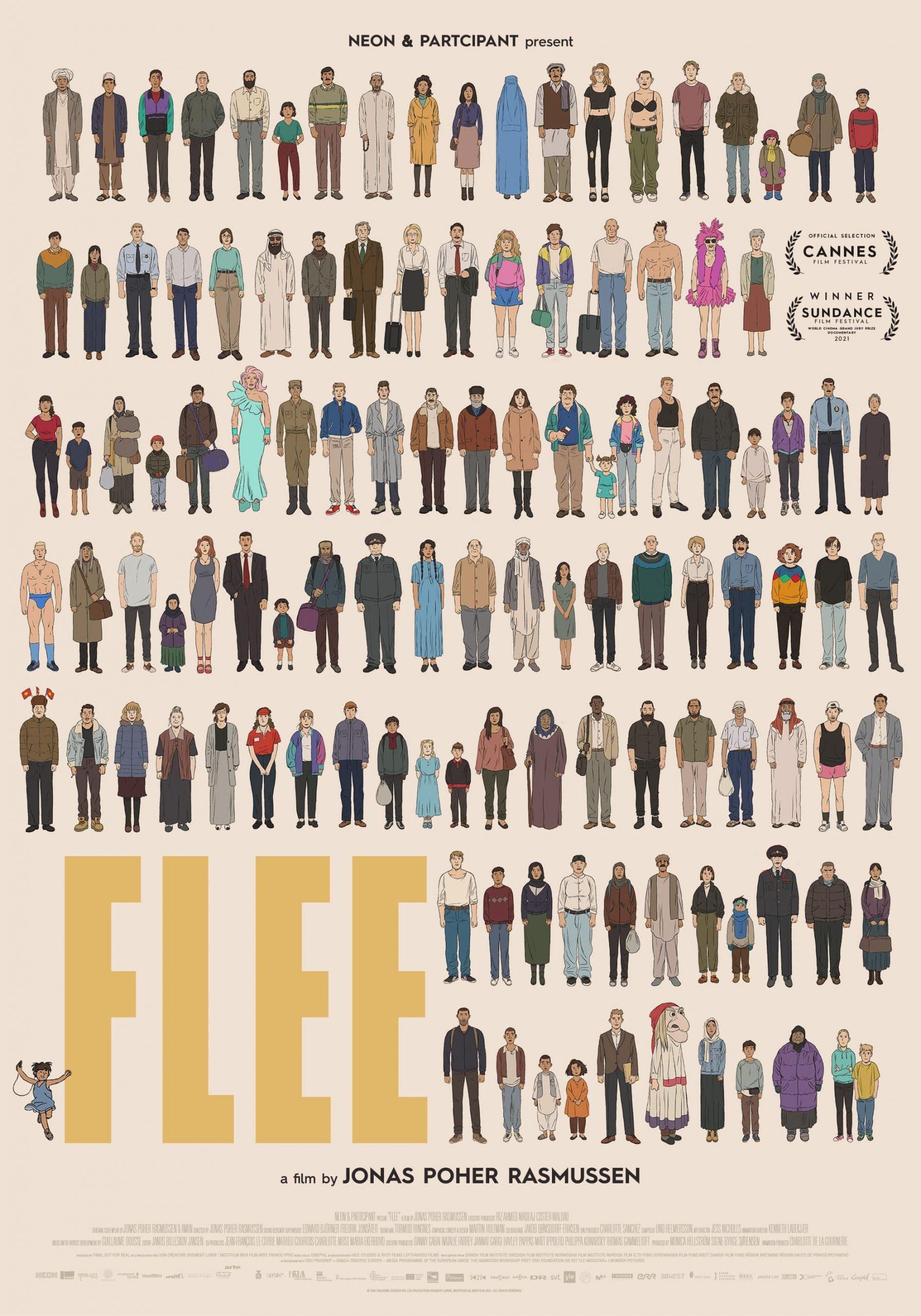 Poster for Flee (2021)