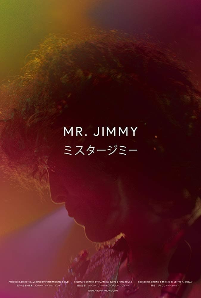 Poster for Mr. Jimmy (2021)