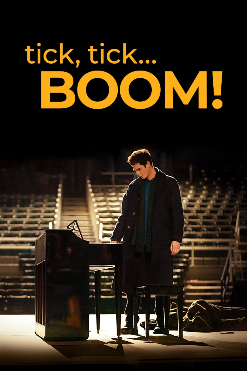 Poster for Tick, Tick…BOOM! (2021)