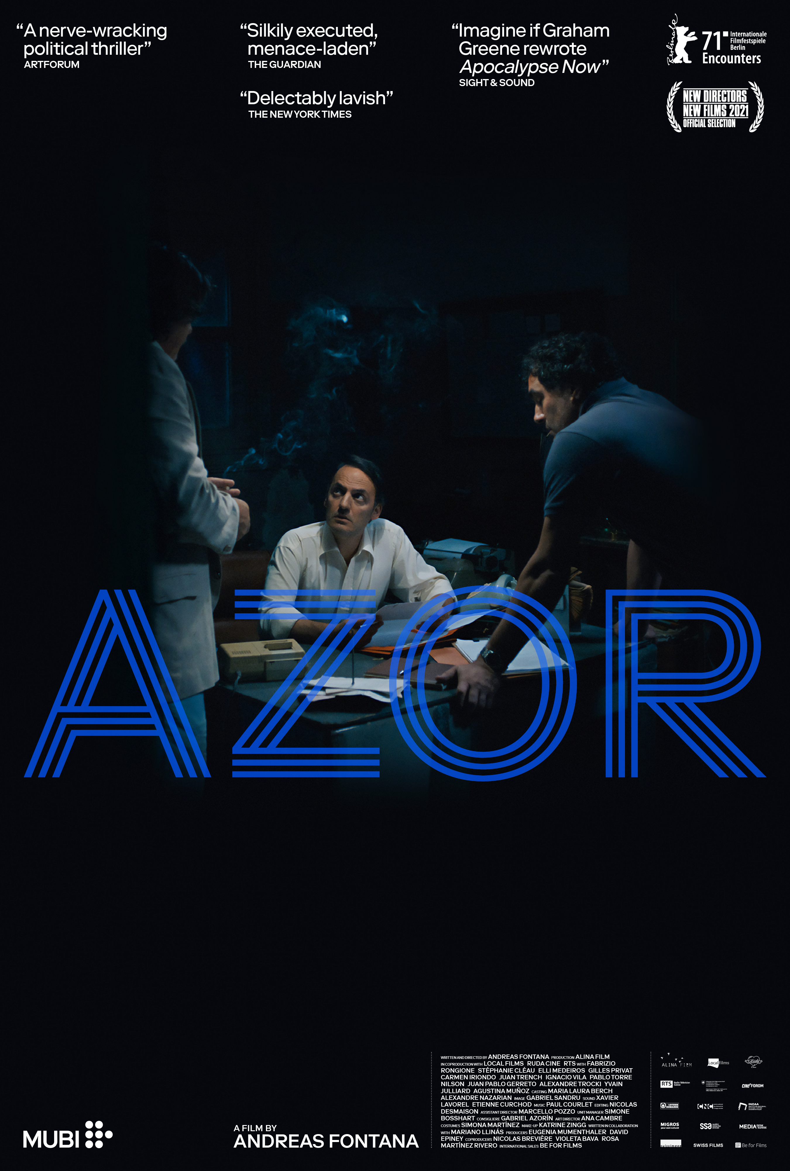 Poster for Azor (2021)