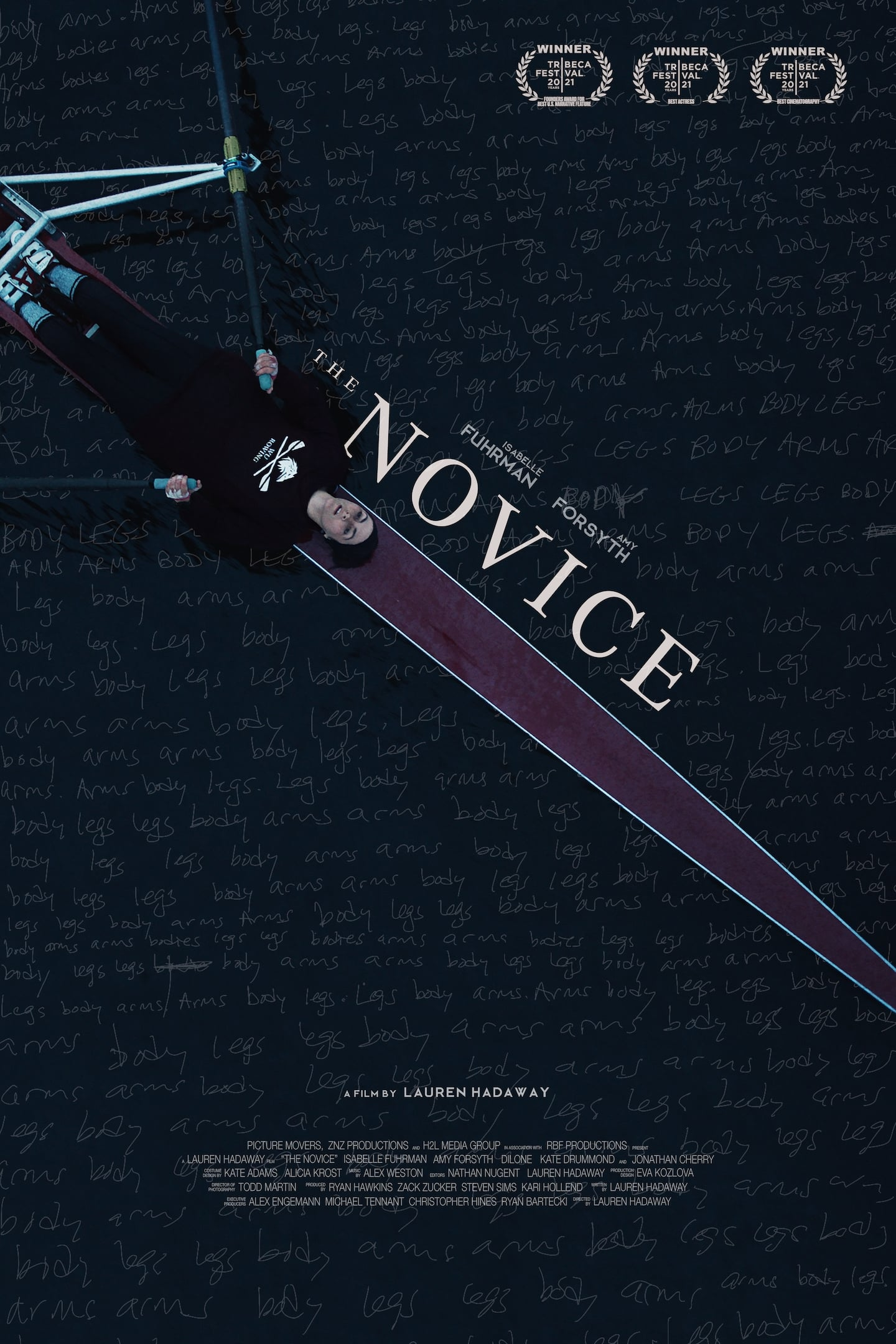 Poster for The Novice (2021)
