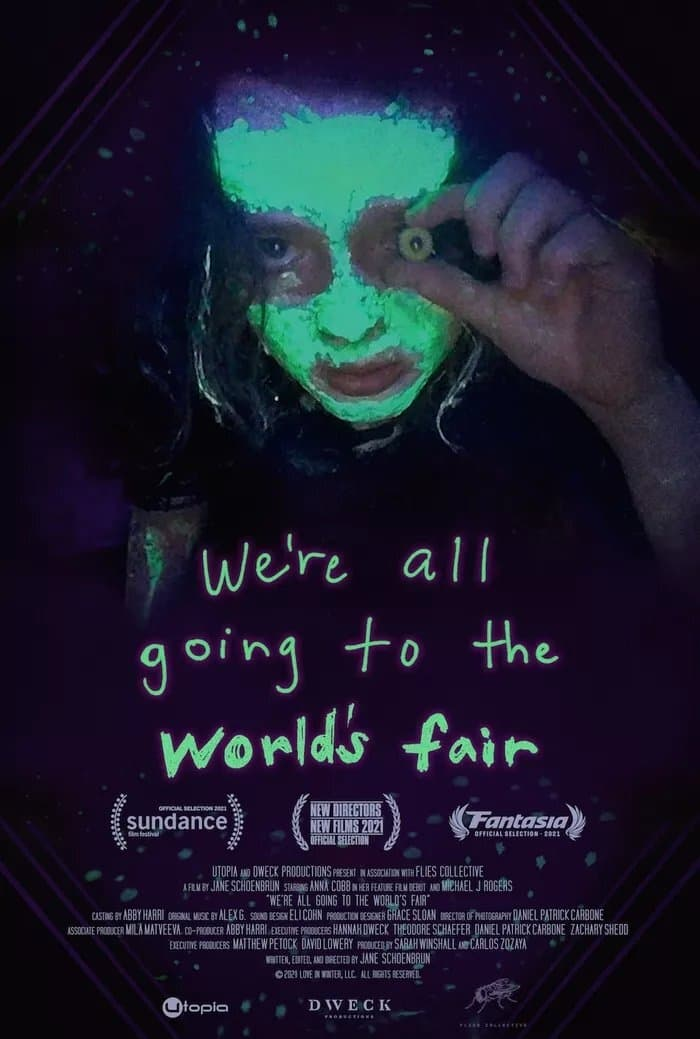 Poster for NFF21: We're All Going to the World's Fair (2021)