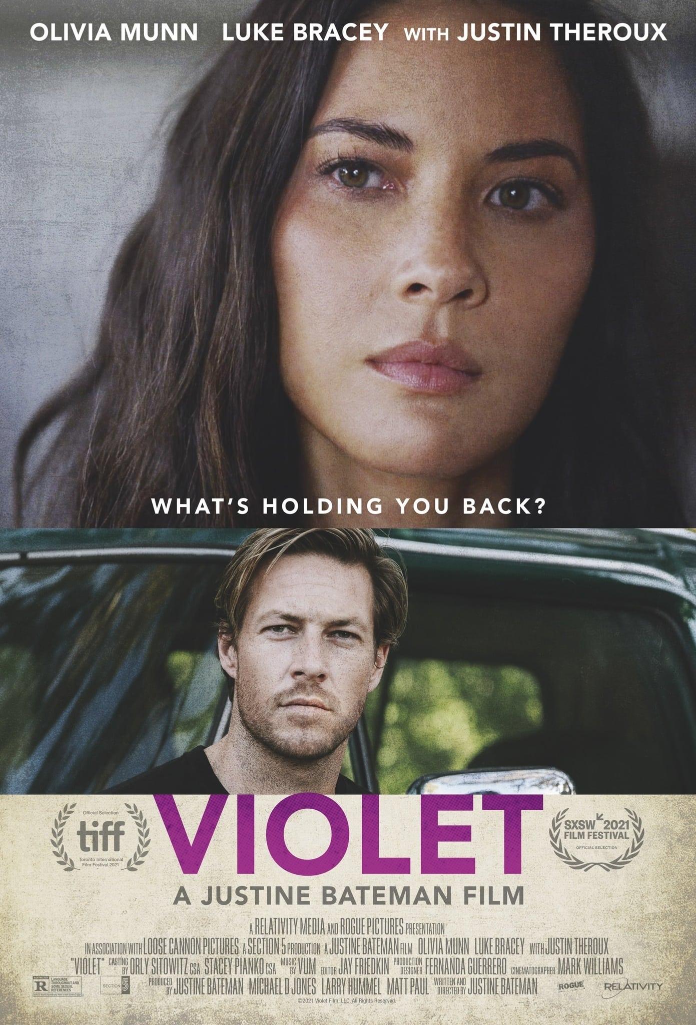 Poster for Violet (2021)