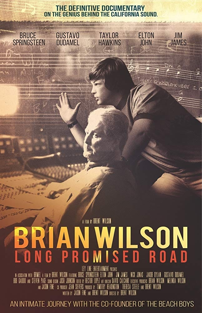Poster for Brian Wilson: Long Promised Road (2021)
