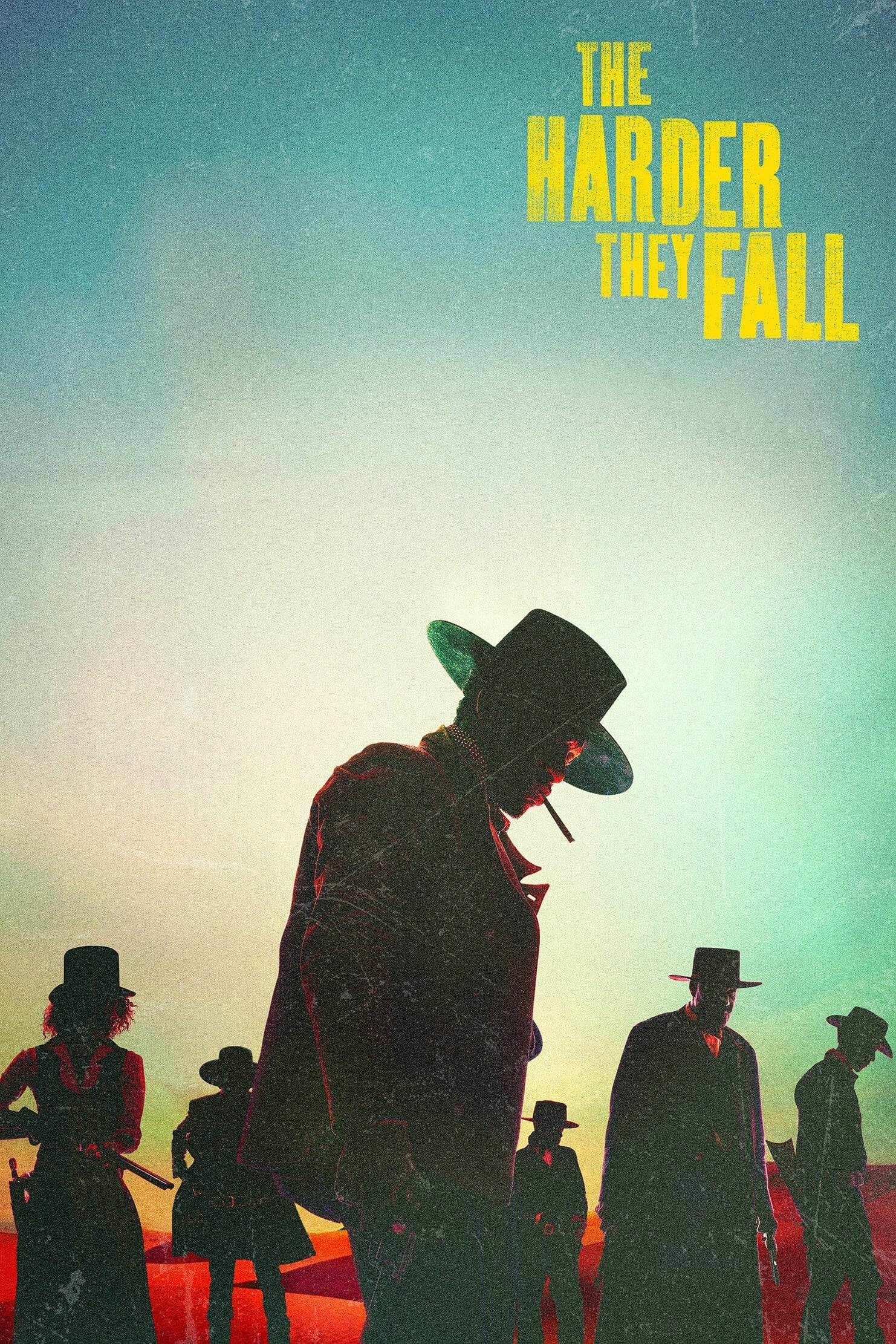 Poster for The Harder They Fall (2021)