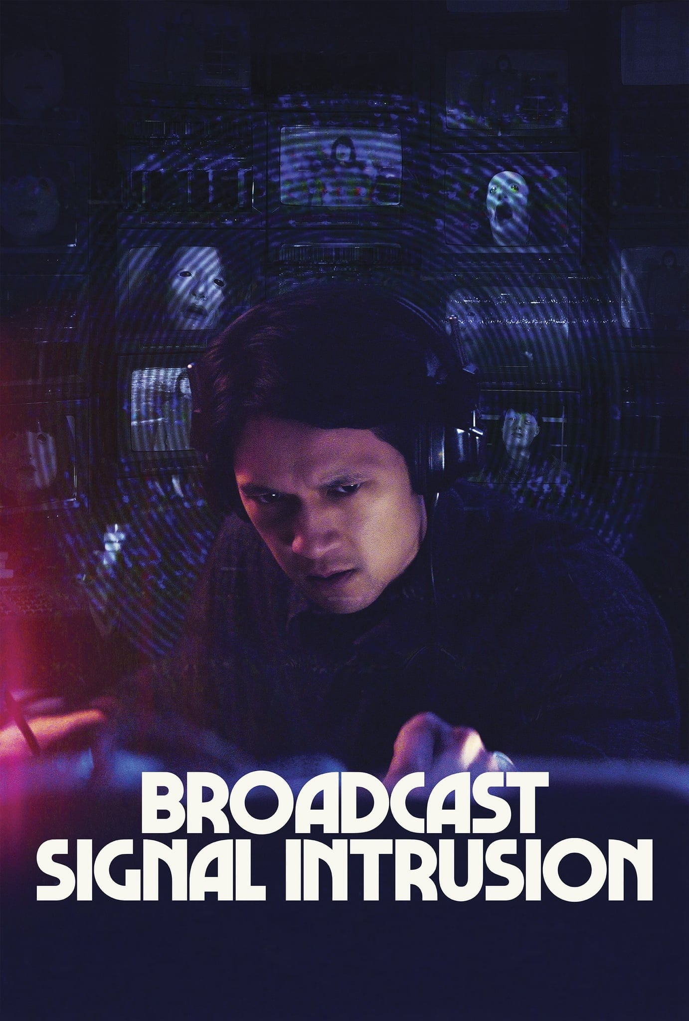 Poster for Broadcast Signal Intrusion (2021)