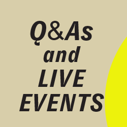 QAs and Live Events