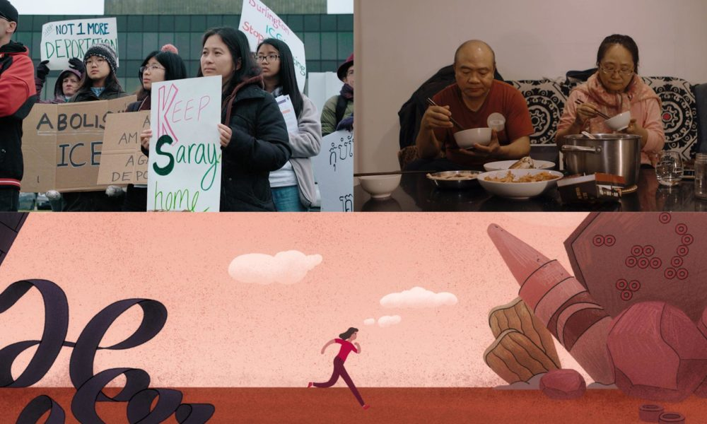Film Stills from Keep Saray Home, Transplant, and Passage