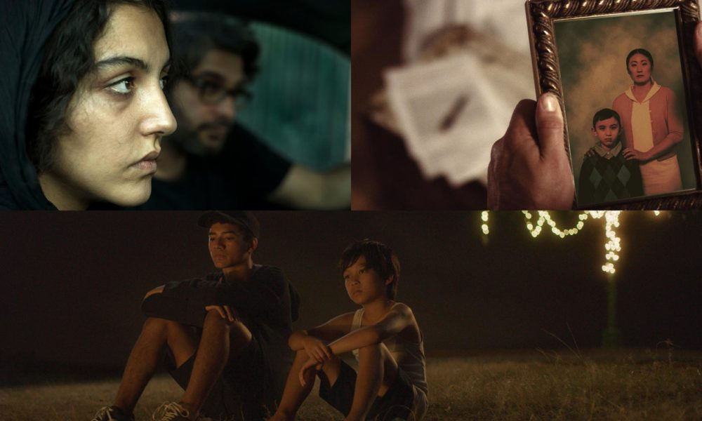 Film Stills from Marziyeh, Here We Stay, and Mo'o!