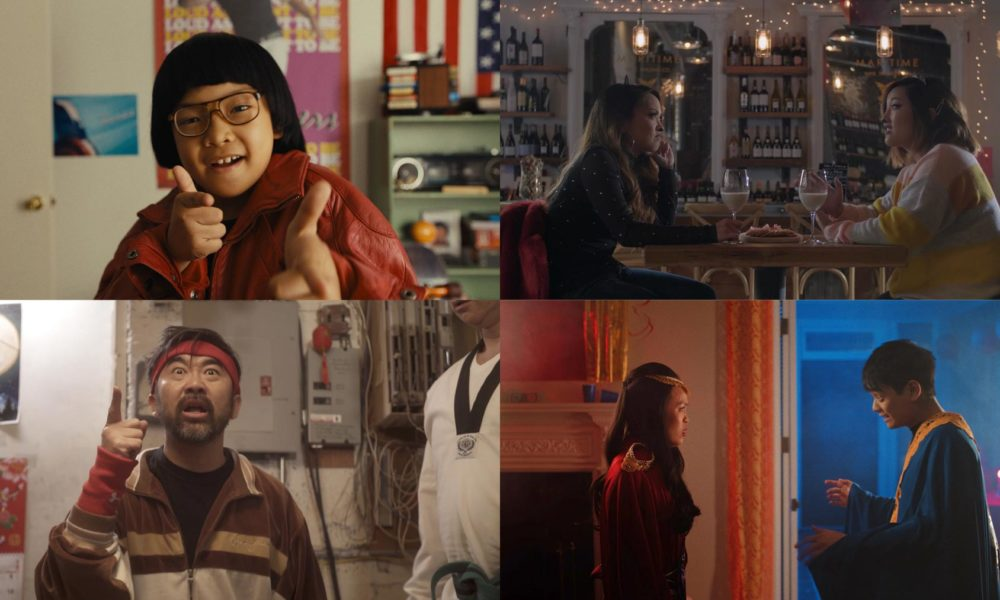 Film Stills from Becoming Eddie, The Trouble with Cats, Dragon Style, and Logan Lee & the Rise of the Purple Dawn