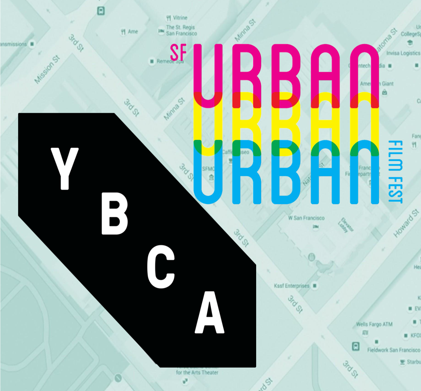 YBCA SF Urban Film Fest logos