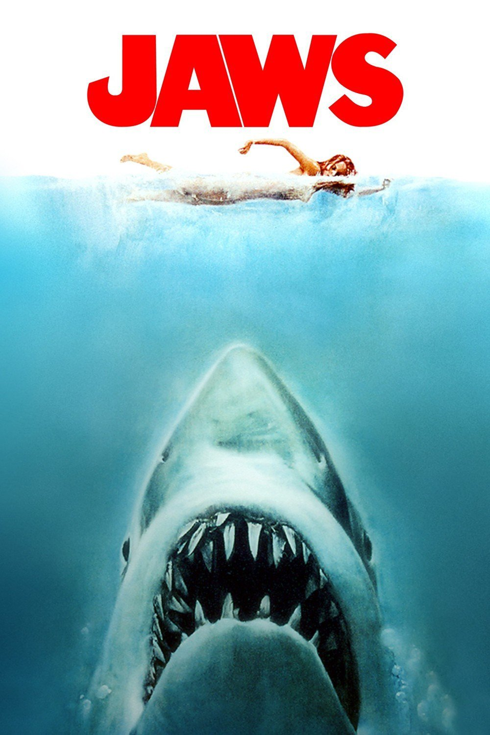 Poster for Jaws