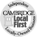 Cambridge Local First, helping to support locally owned businesses.