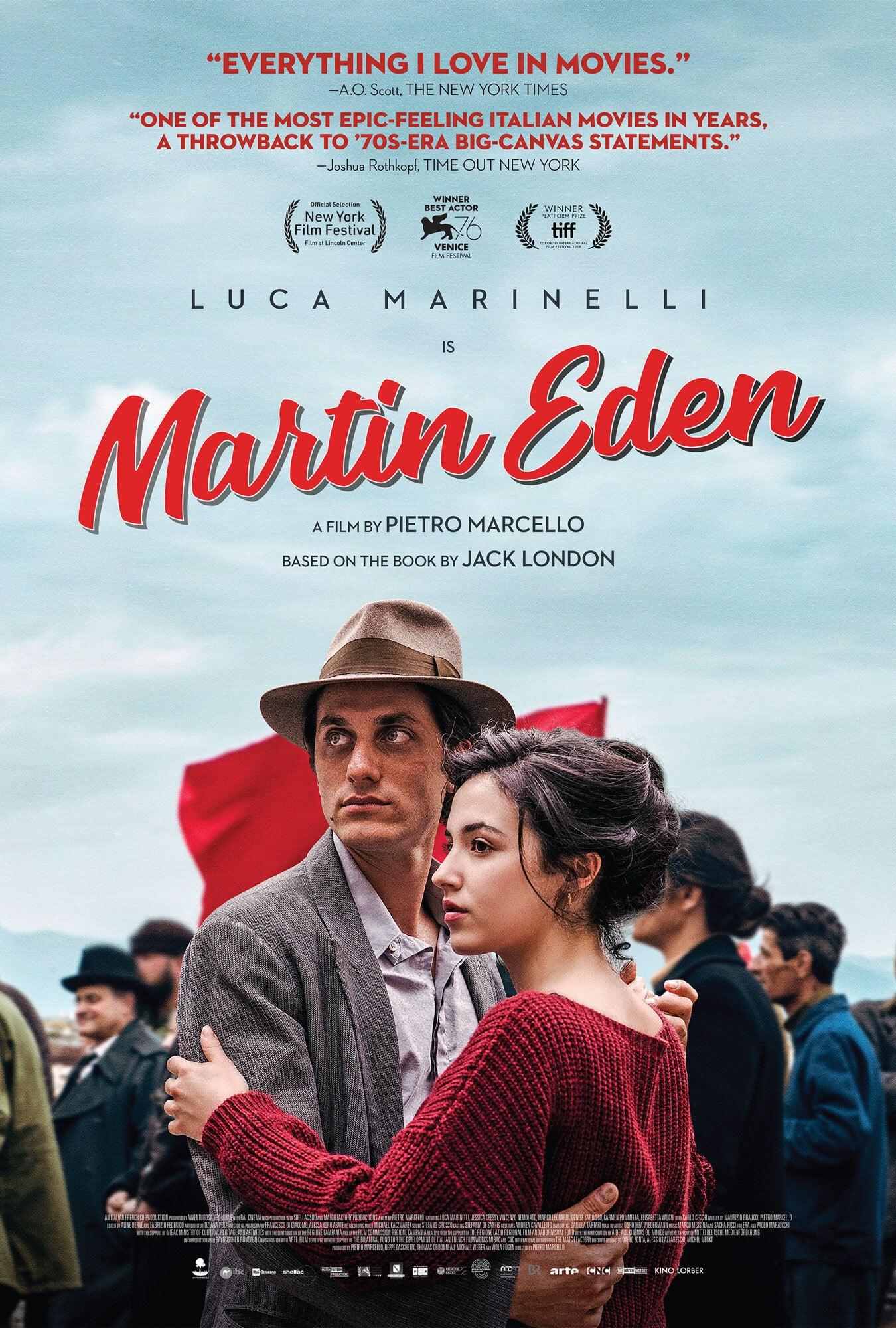 Poster for Martin Eden