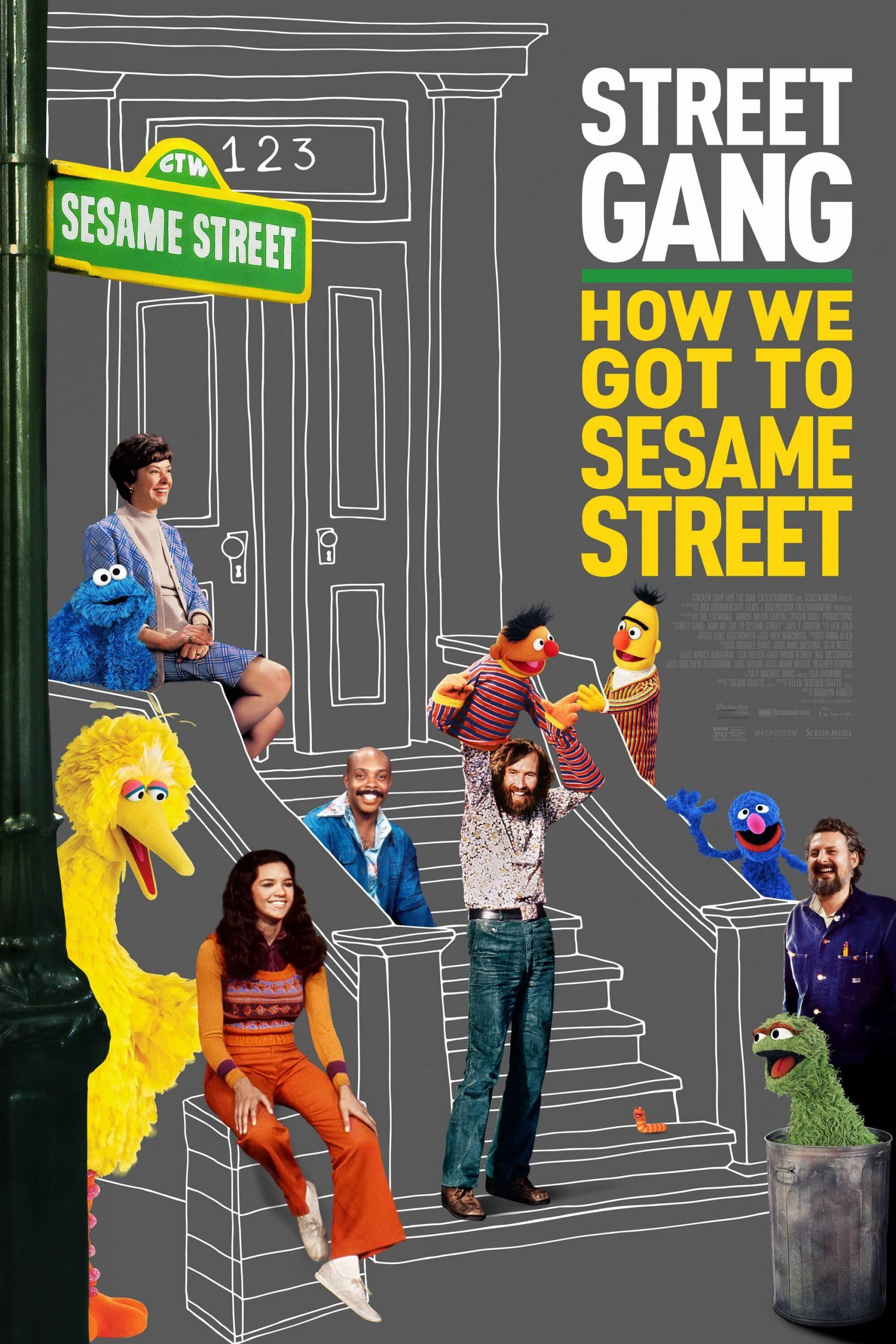 Poster for Street Gang: How We Got to Sesame Street
