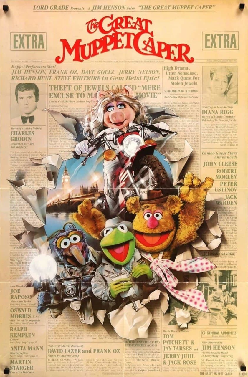 Poster for The Great Muppet Caper