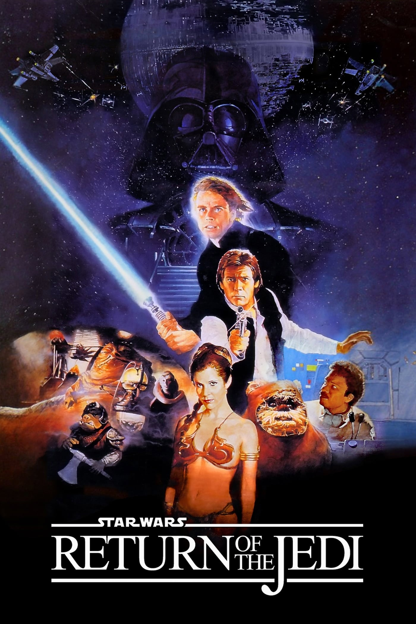 Poster for Return of the Jedi