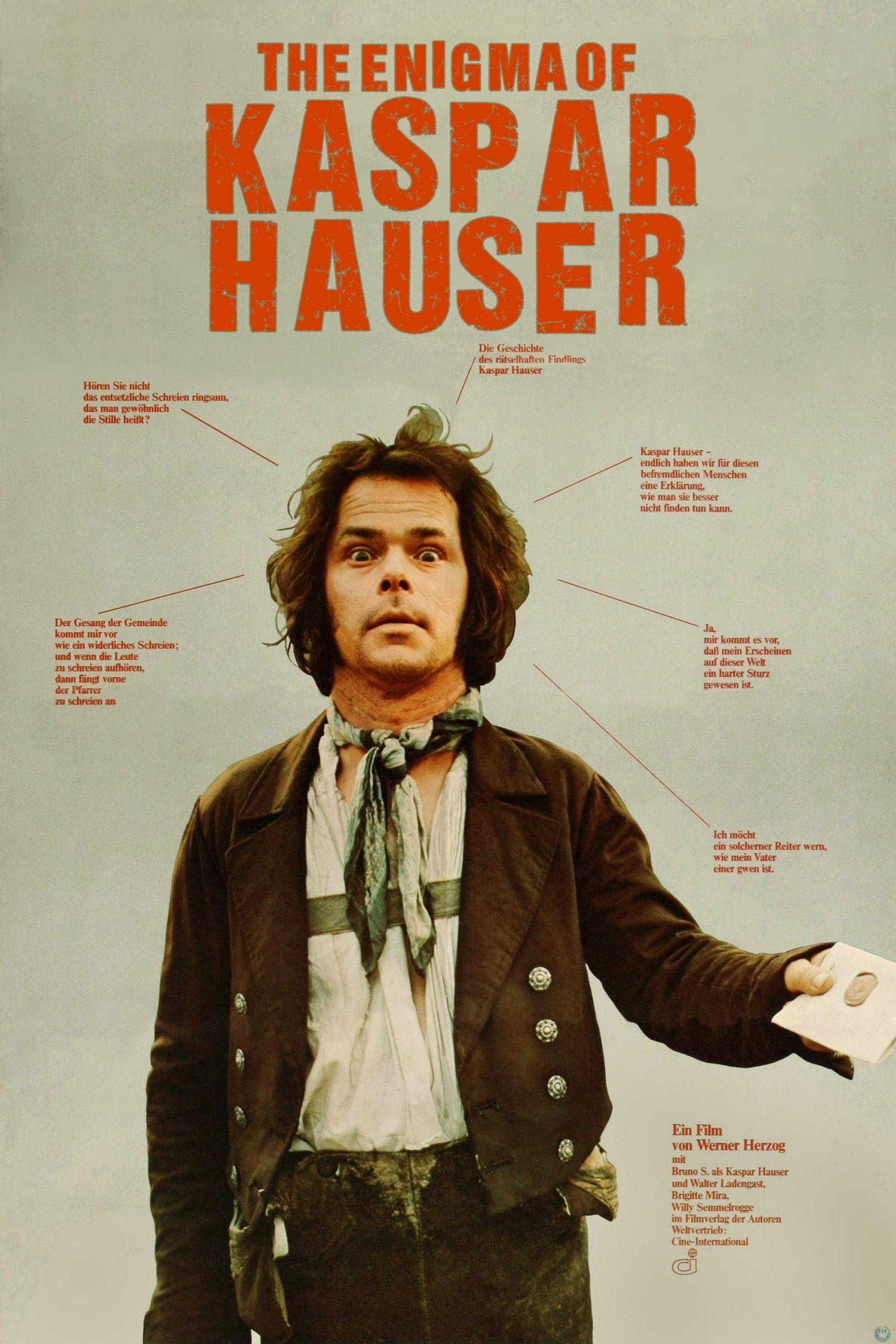 Poster for The Enigma of Kaspar Hauser