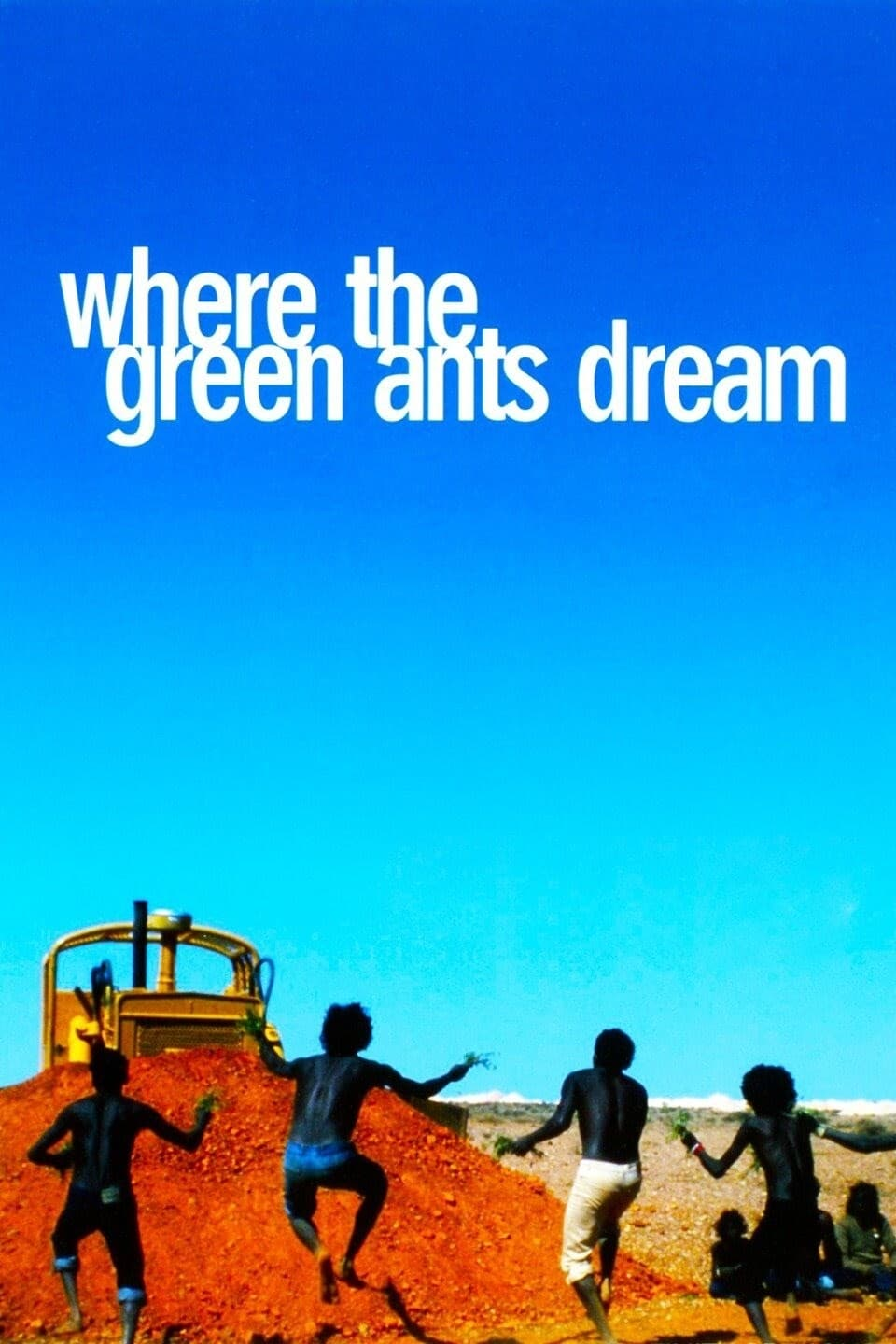 Poster for Where the Green Ants Dream