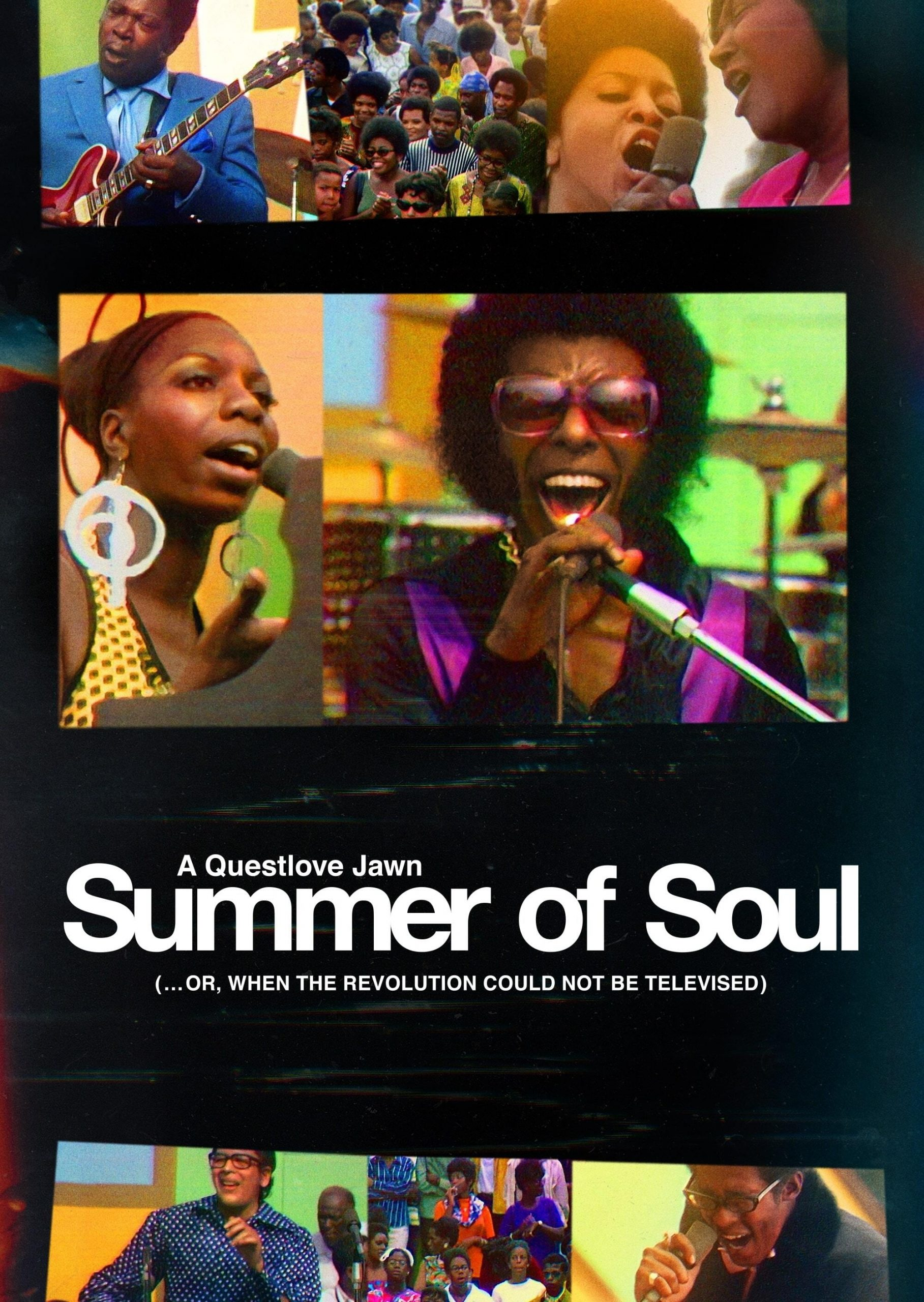 Poster for Summer of Soul (…or, When the Revolution Could Not Be Televised)