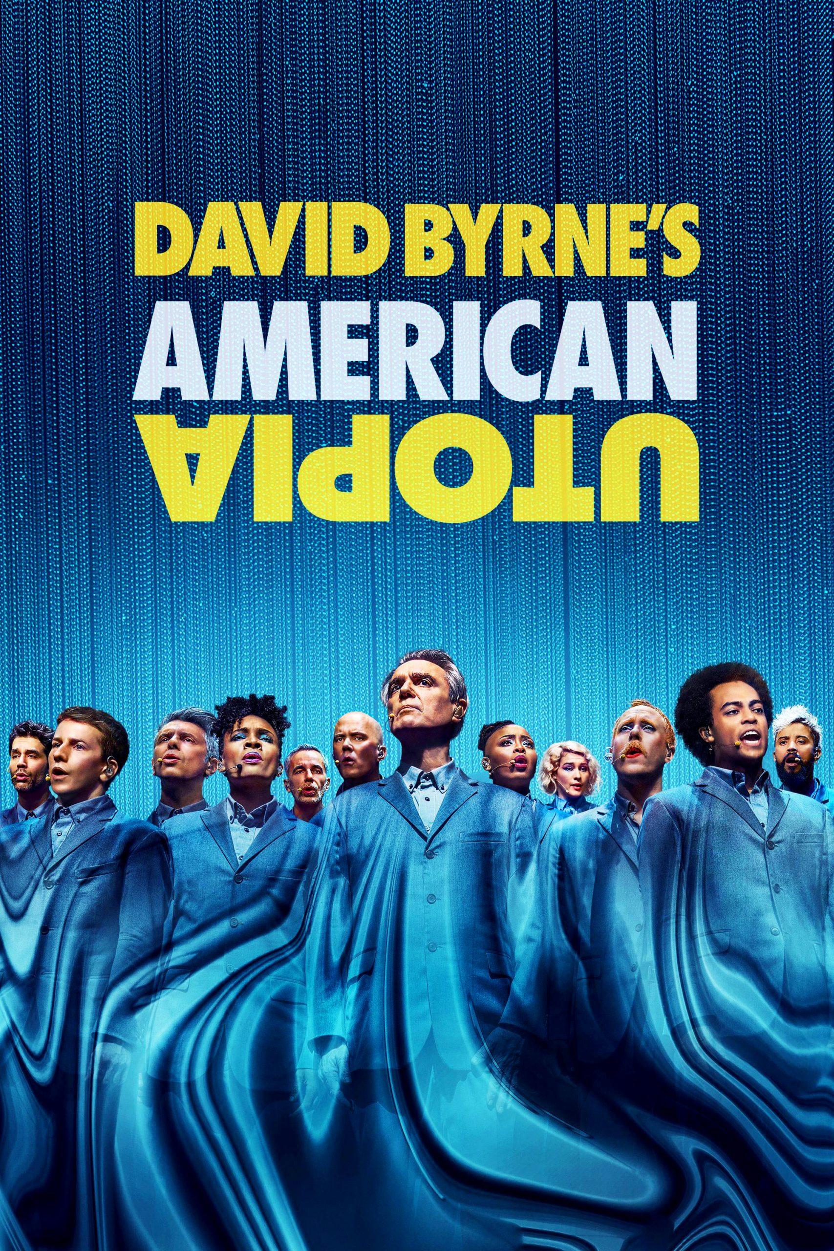 Poster for David Byrne's American Utopia