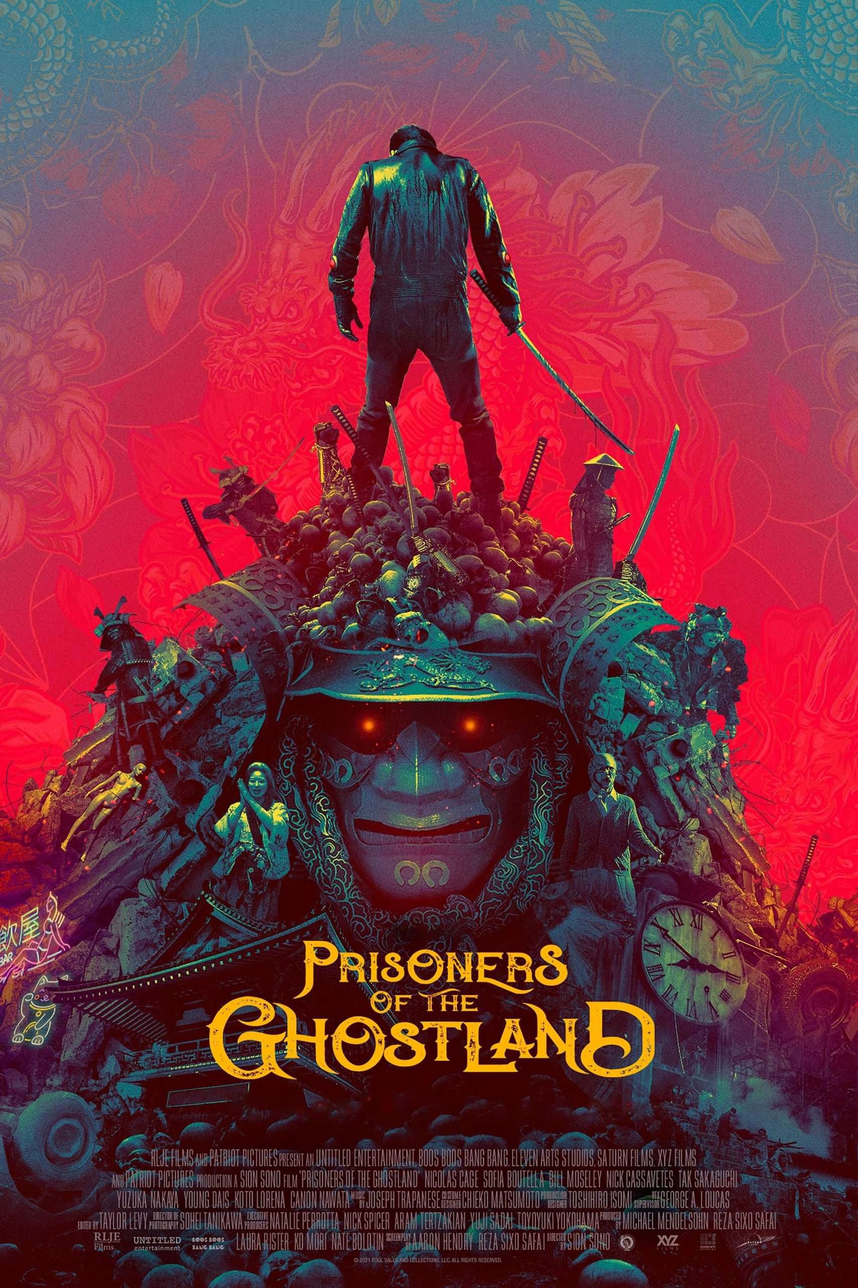Poster for Prisoners of the Ghostland