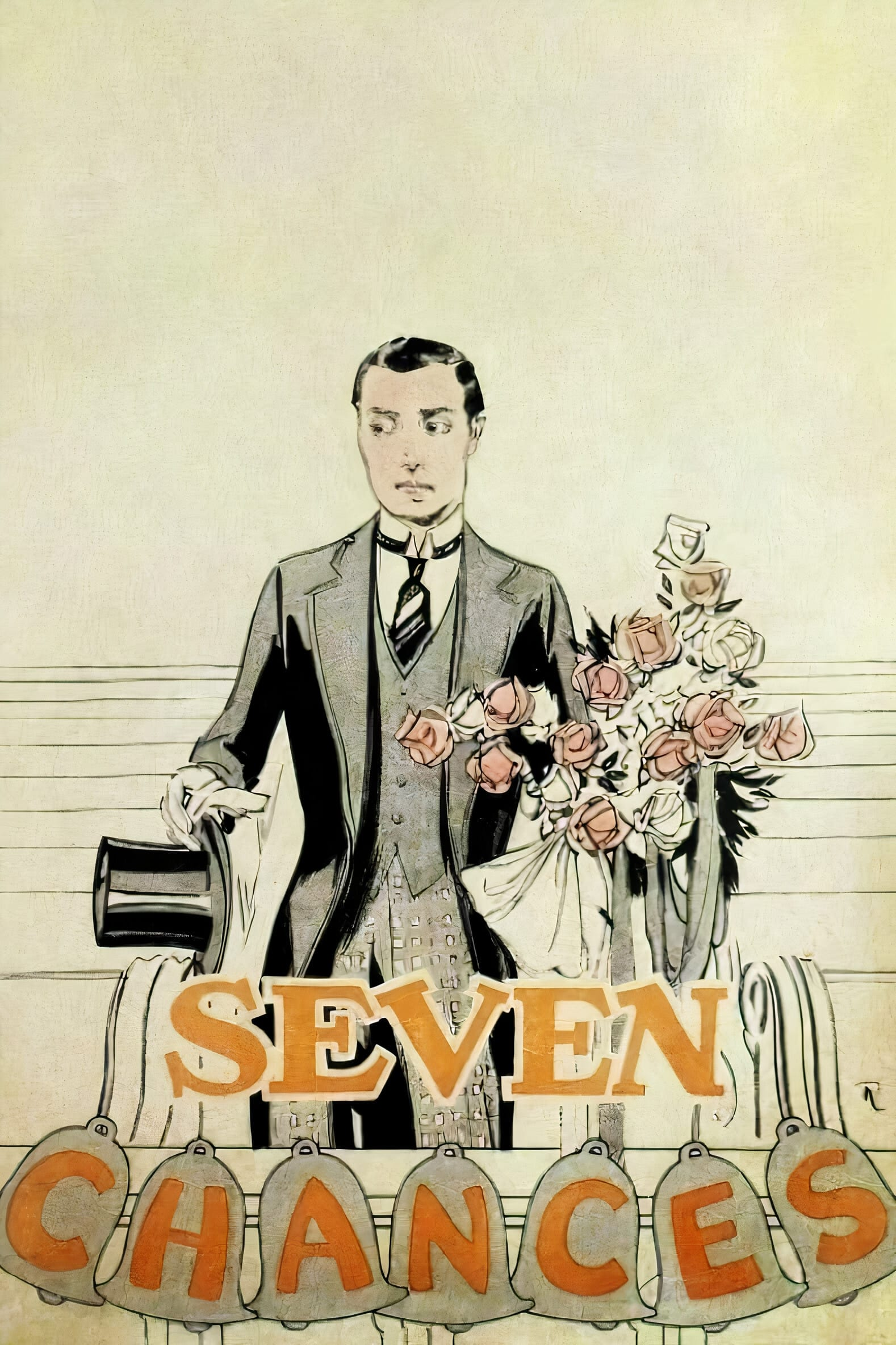 Poster for Seven Chances