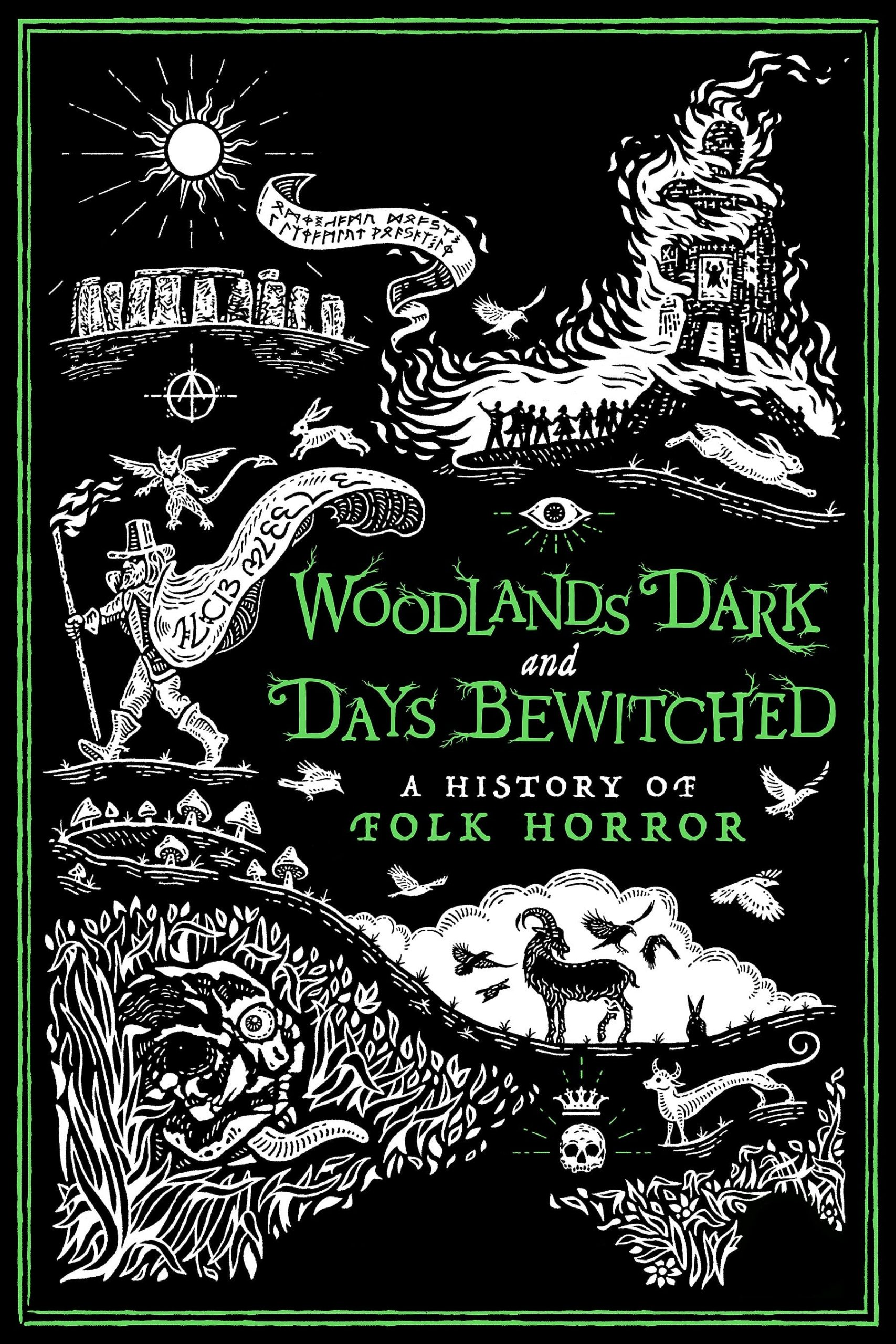 Poster for Woodlands Dark and Days Bewitched: A History of Folk Horror