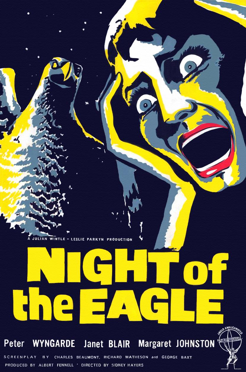Poster for Night of the Eagle