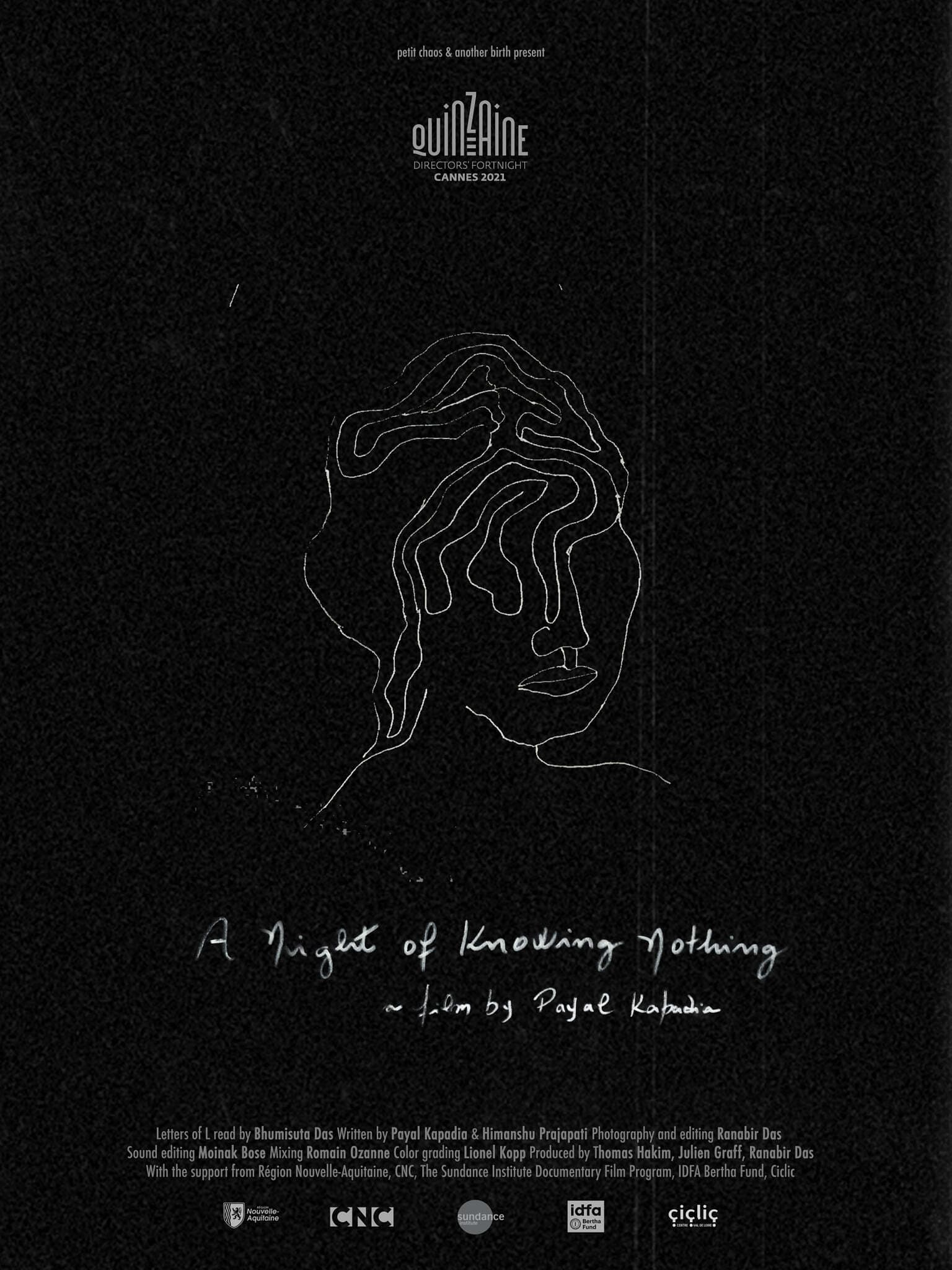 Poster for A Night of Knowing Nothing