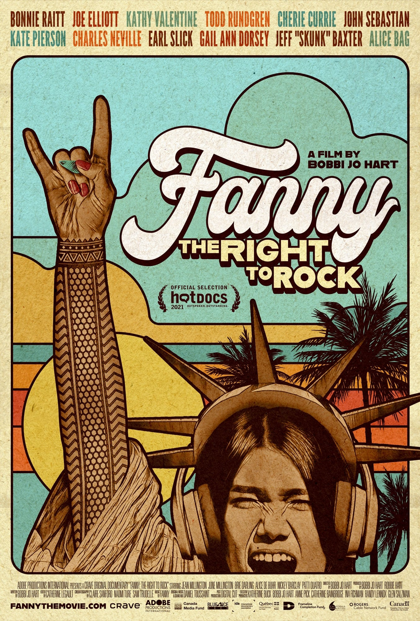 Poster for Fanny: The Right to Rock