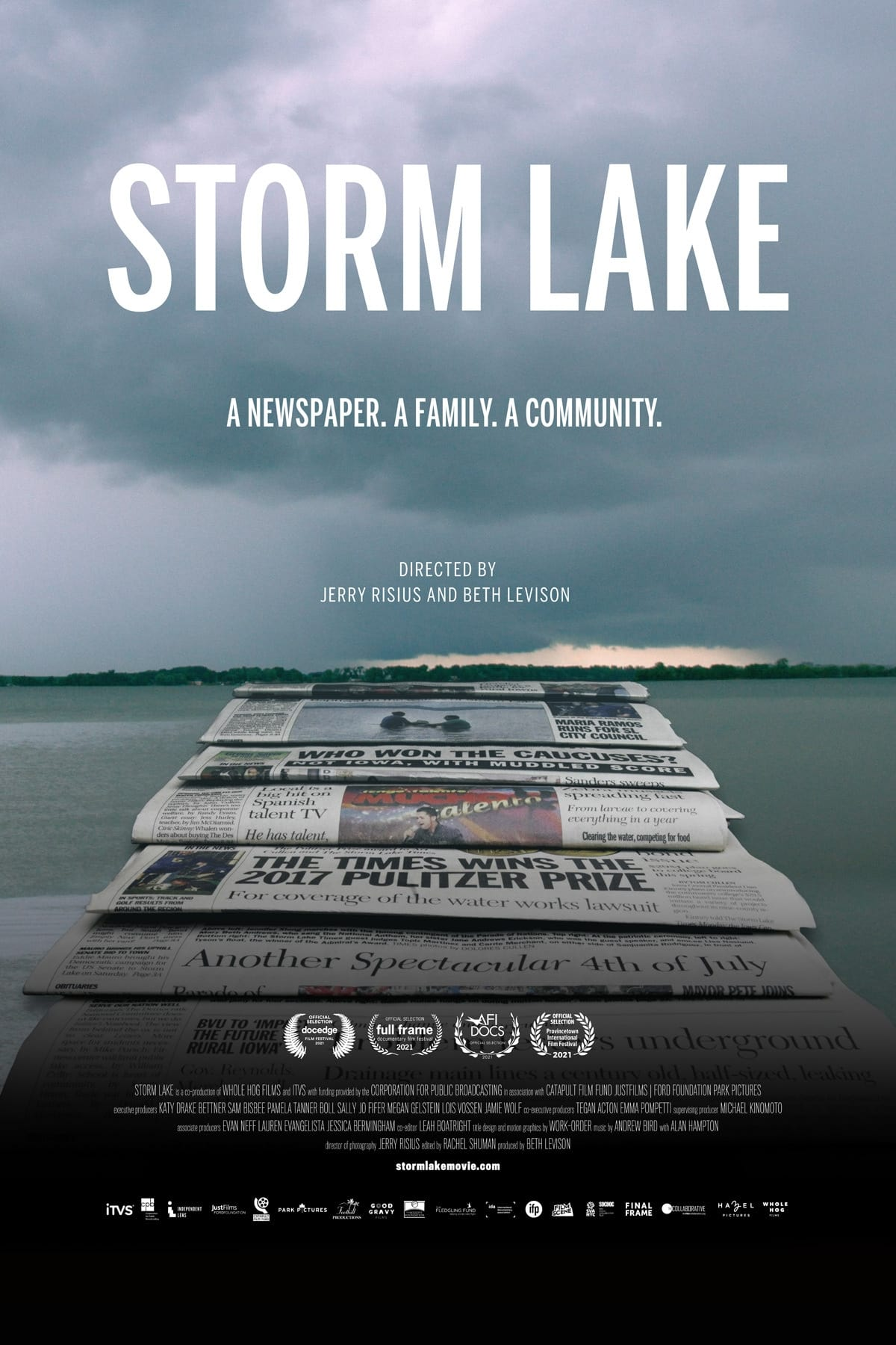 Poster for Storm Lake