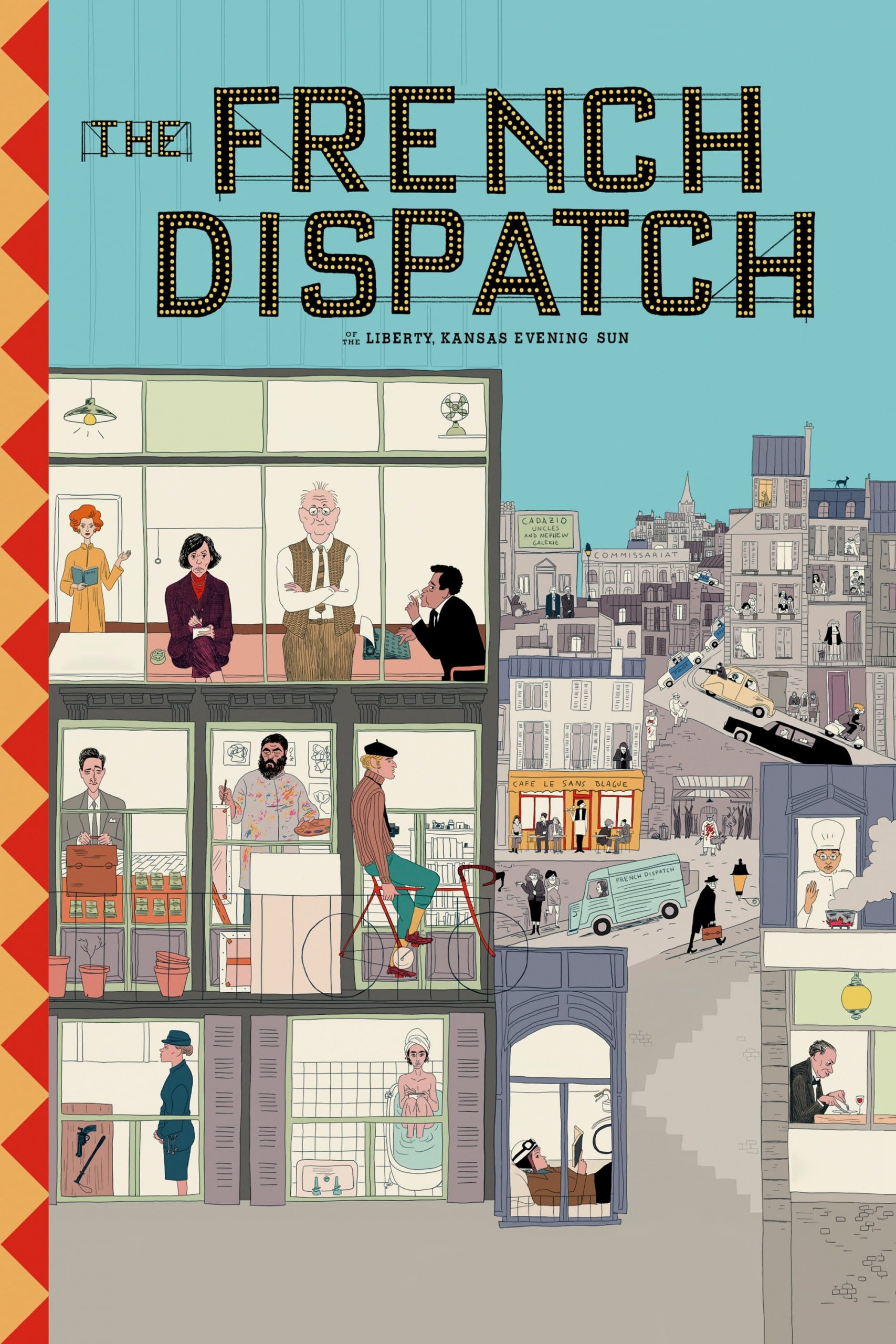 Poster for The French Dispatch (Special Premiere Screening!)