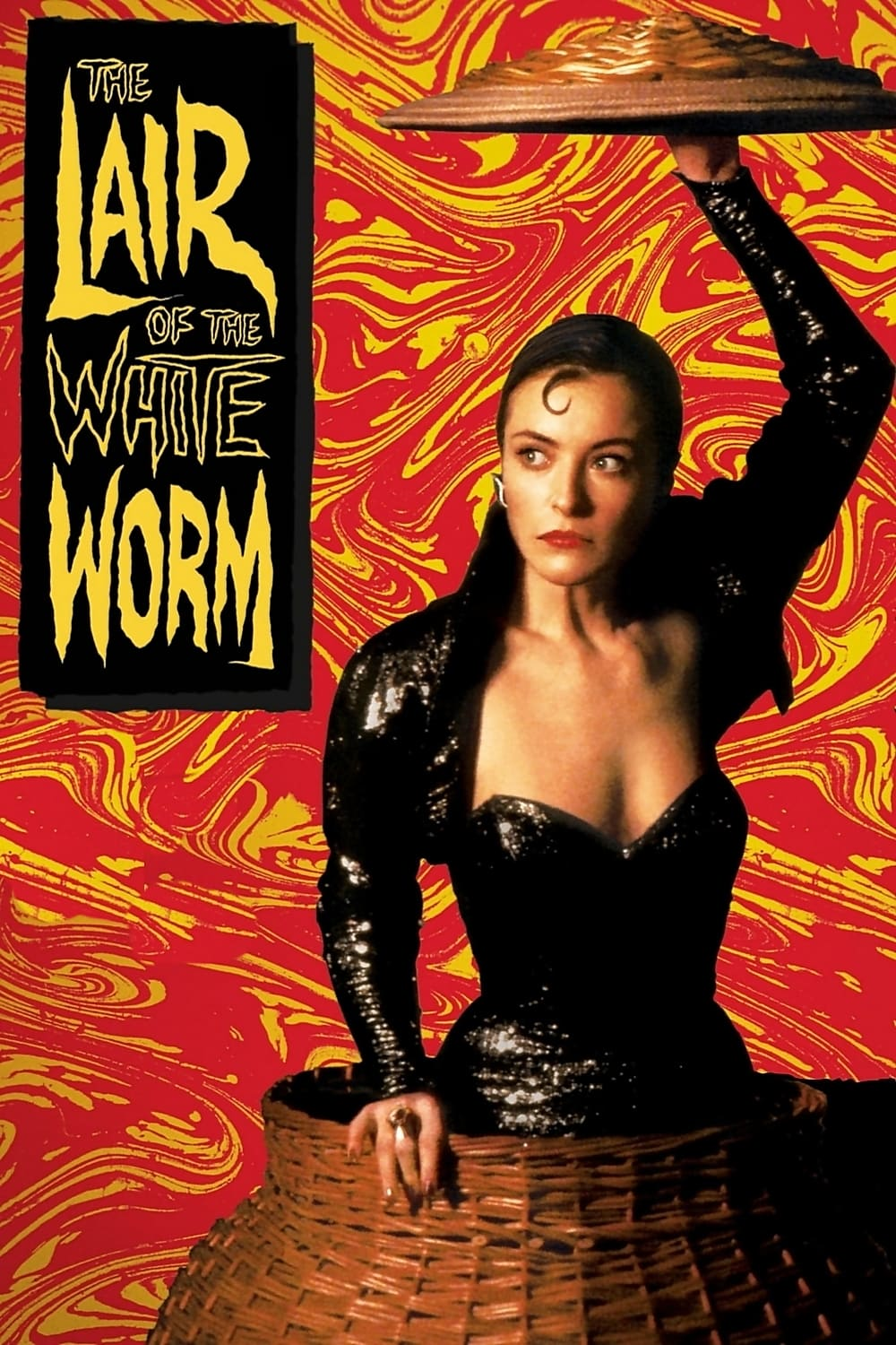 Poster for The Lair of the White Worm
