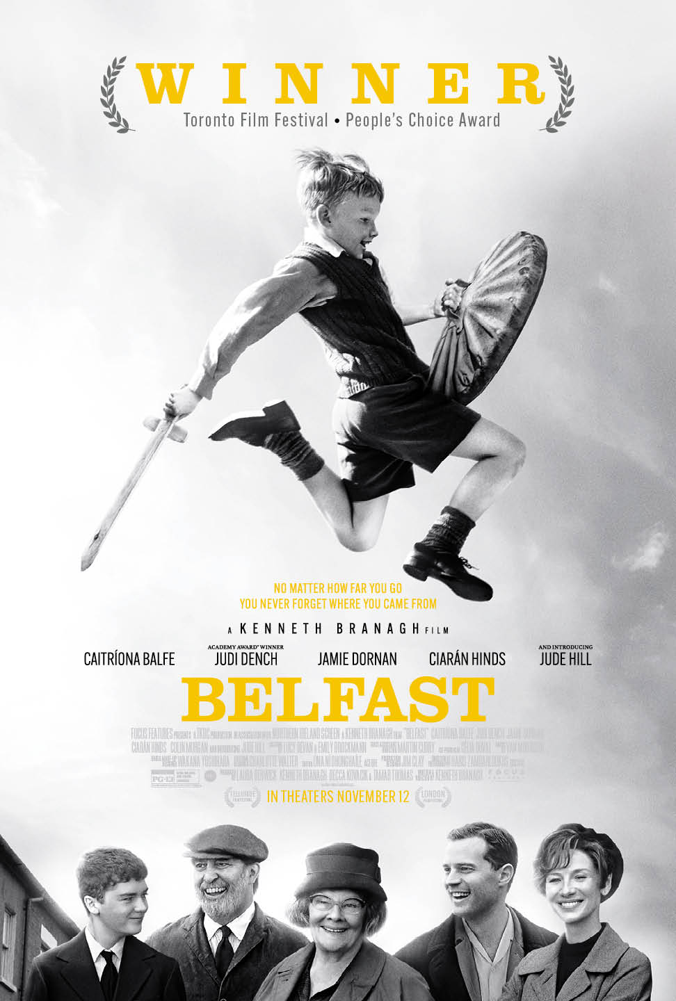 Poster for Belfast (Special Premiere Screening!)