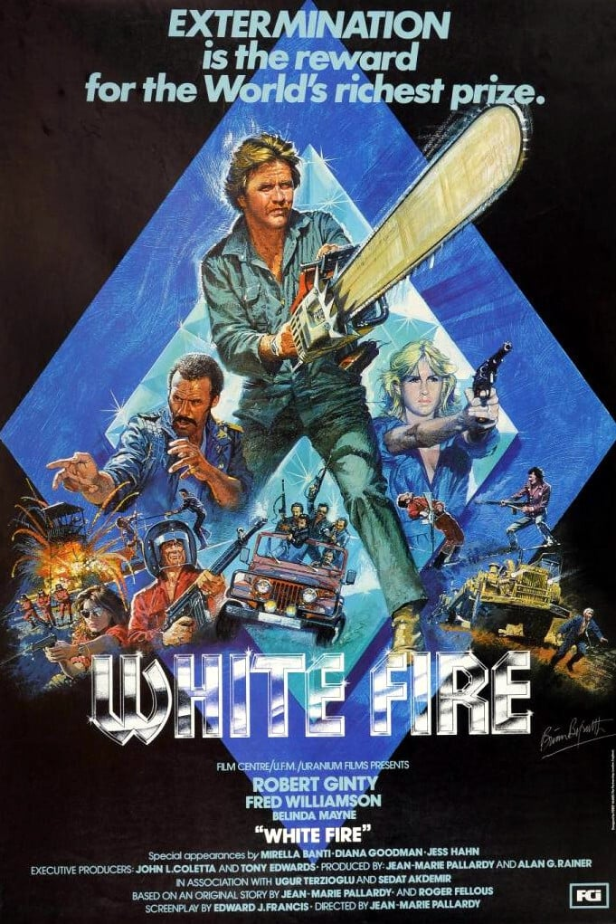 Poster for WHITE FIRE