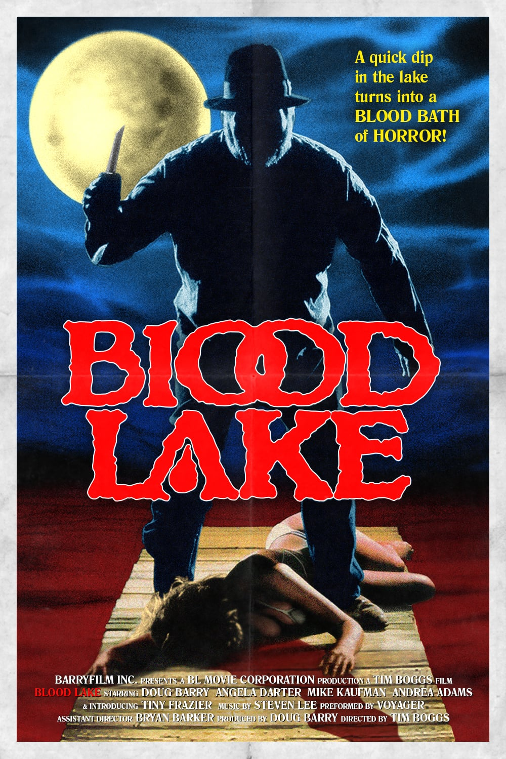 Poster for BLOOD LAKE