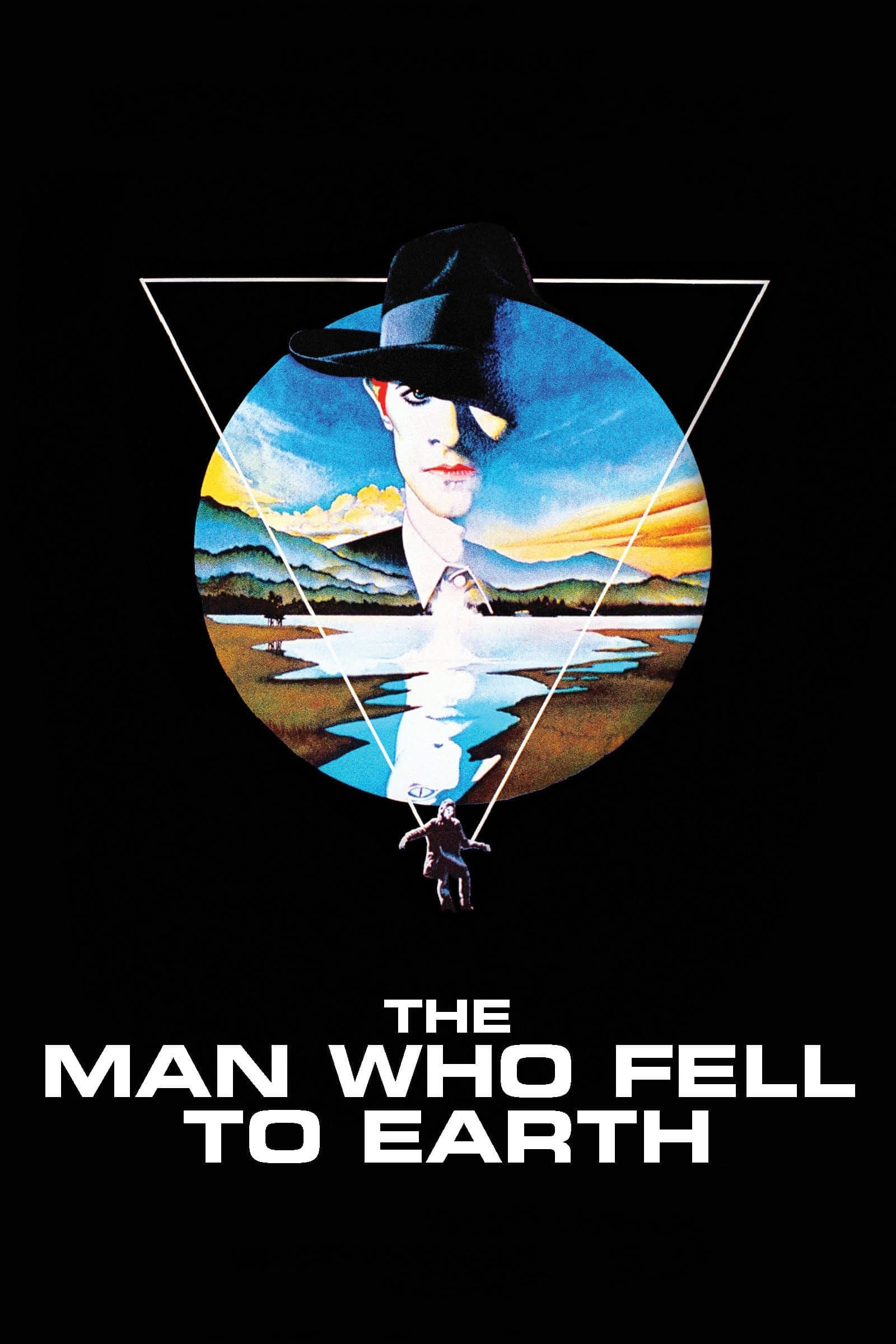 Poster for THE MAN WHO FELL TO EARTH