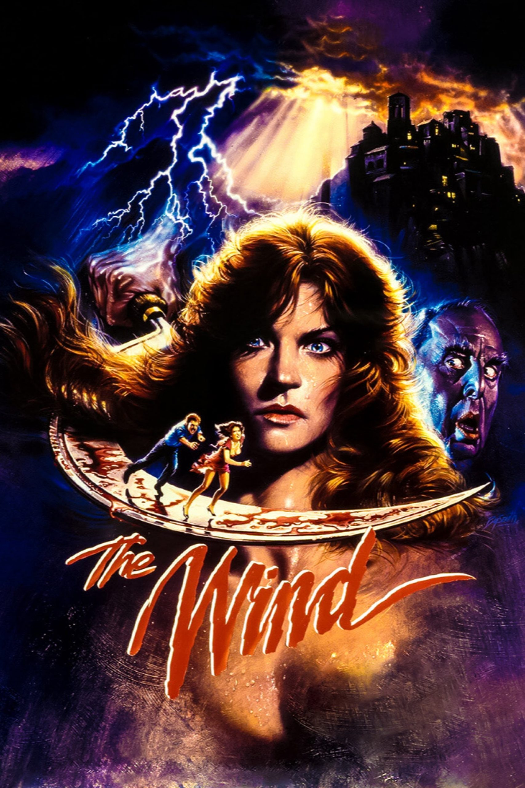 Poster for THE WIND