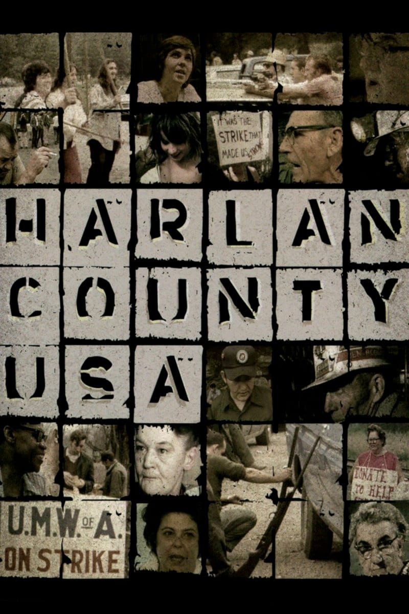 Poster for HARLAN COUNTY U.S.A.