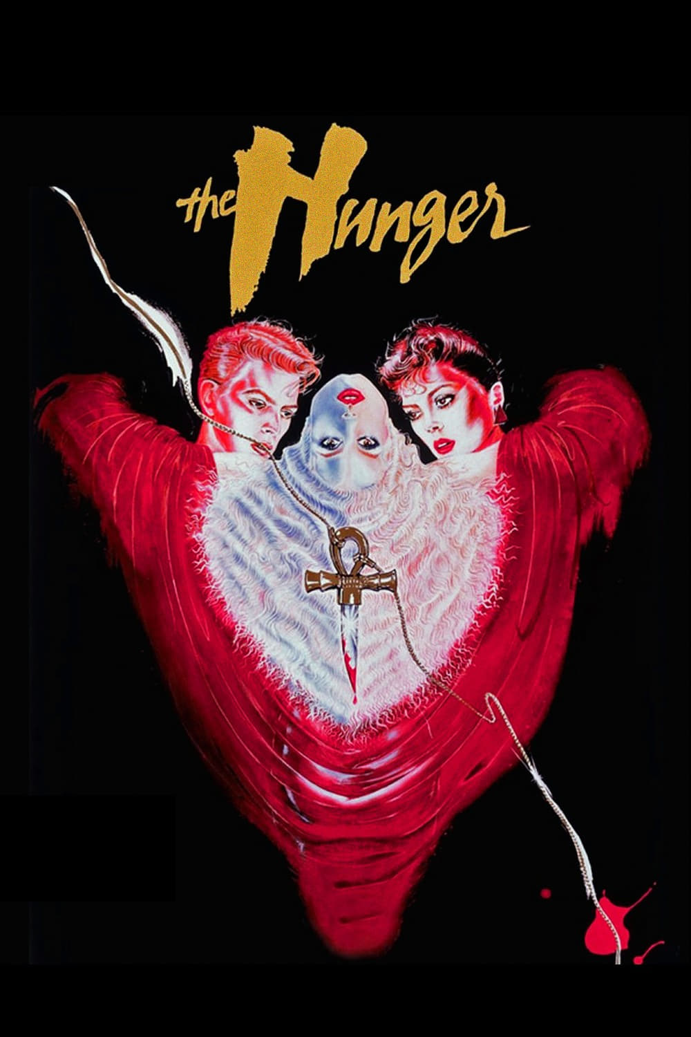 Poster for THE HUNGER
