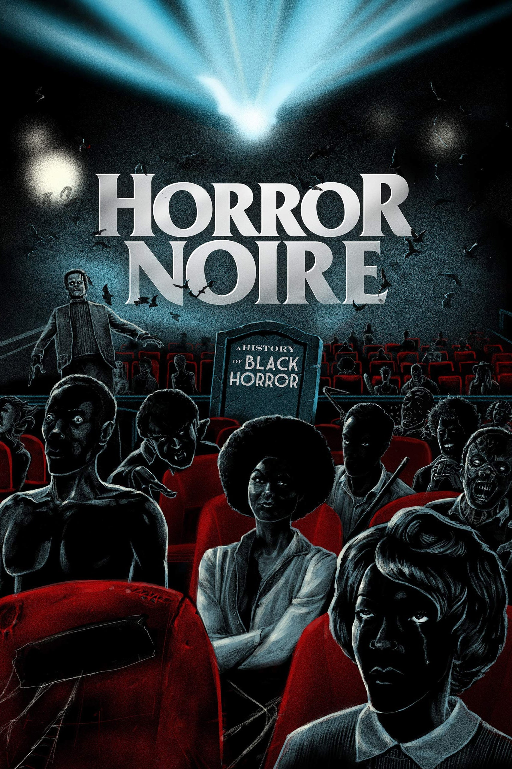 Poster for HORROR NOIRE: A HISTORY OF BLACK HORROR presented by BRITT SANKOFA