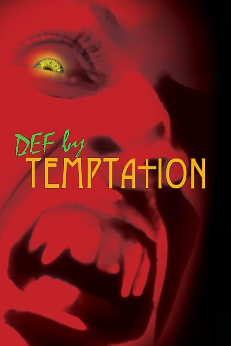 Poster for DEF BY TEMPTATION presented by BRITT SANKOFA