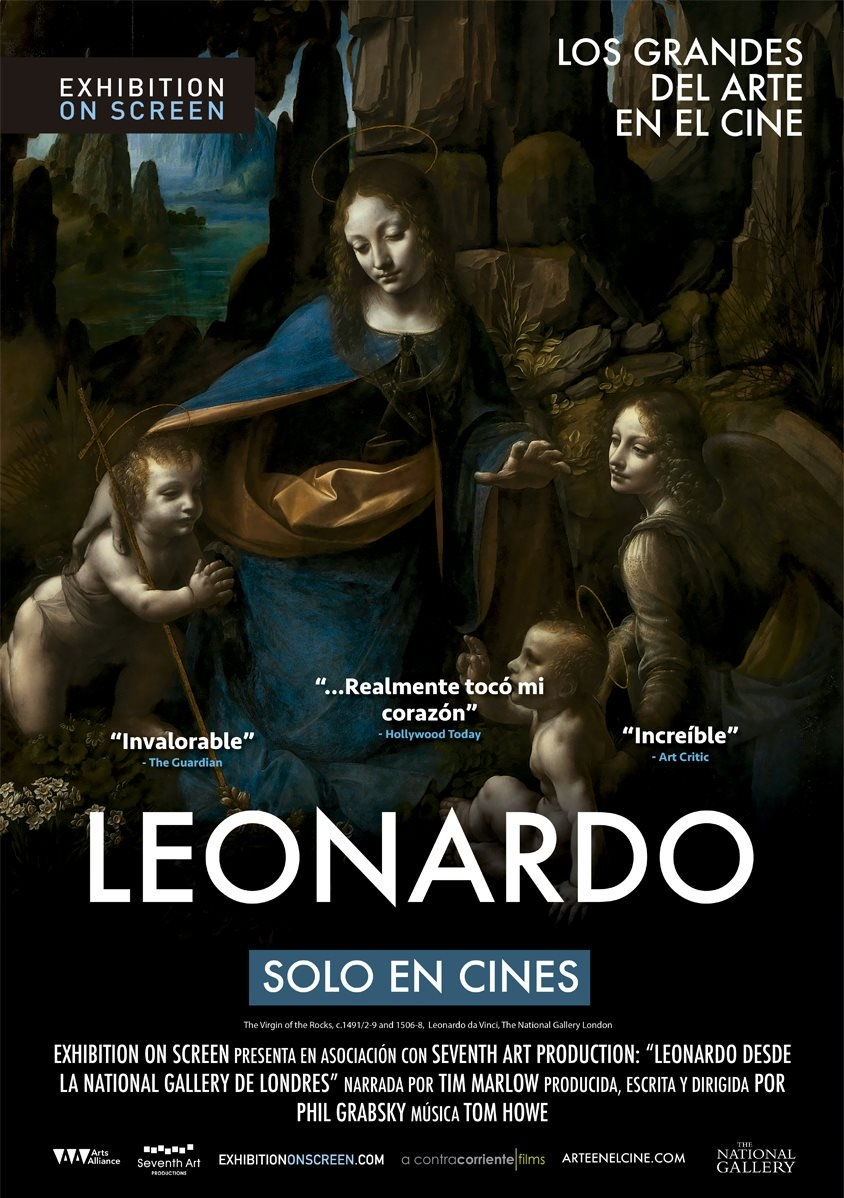 Poster for Leonardo: The Works (AFS)